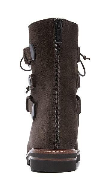 Stuart Weitzman Urbanite Buckle Boots