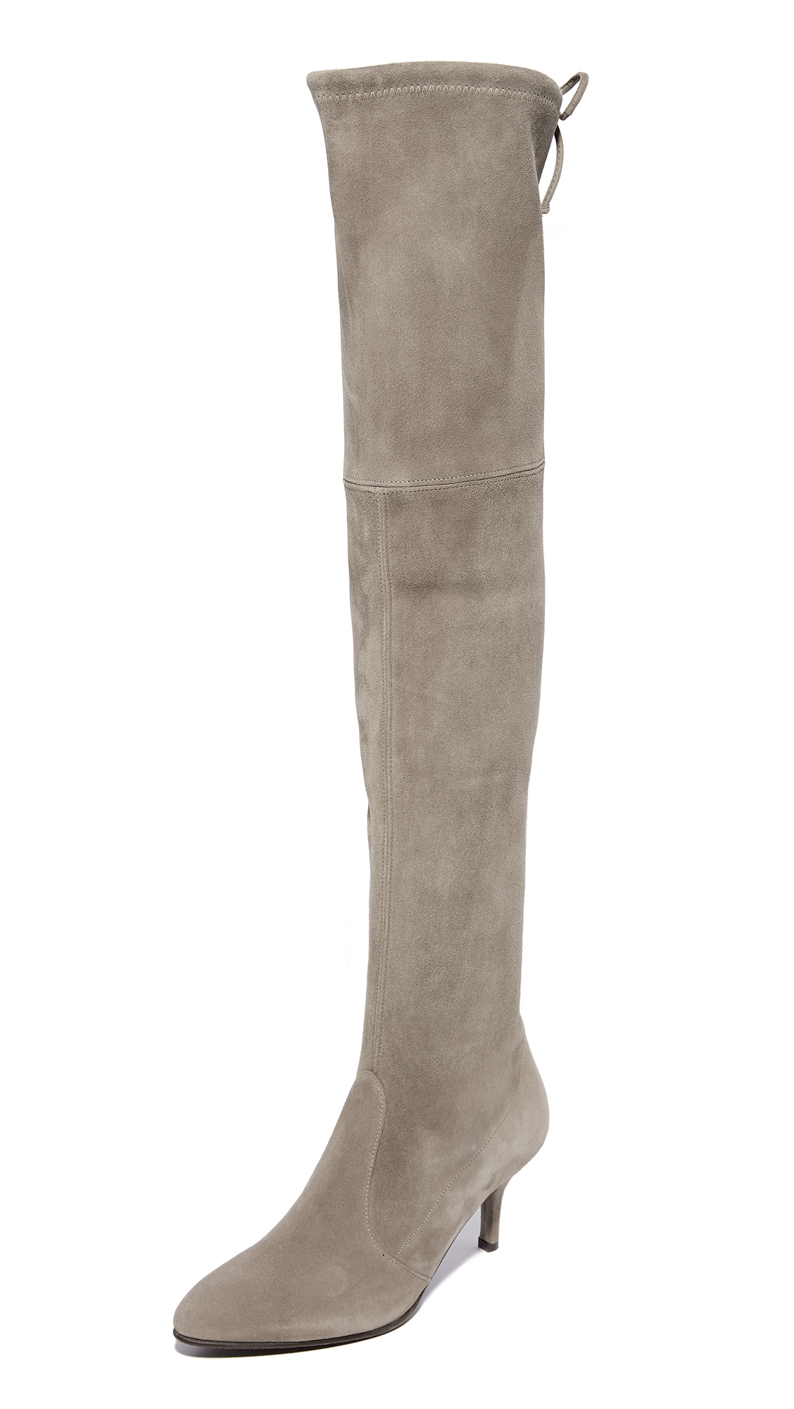 Stuart Weitzman Tie Model Thigh High Boots - Topo