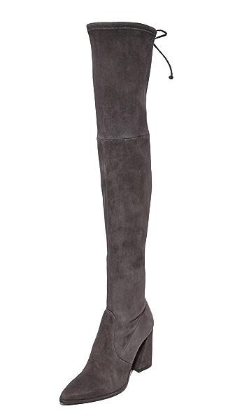 Stuart Weitzman Funland Thigh High Boots - Anthracite