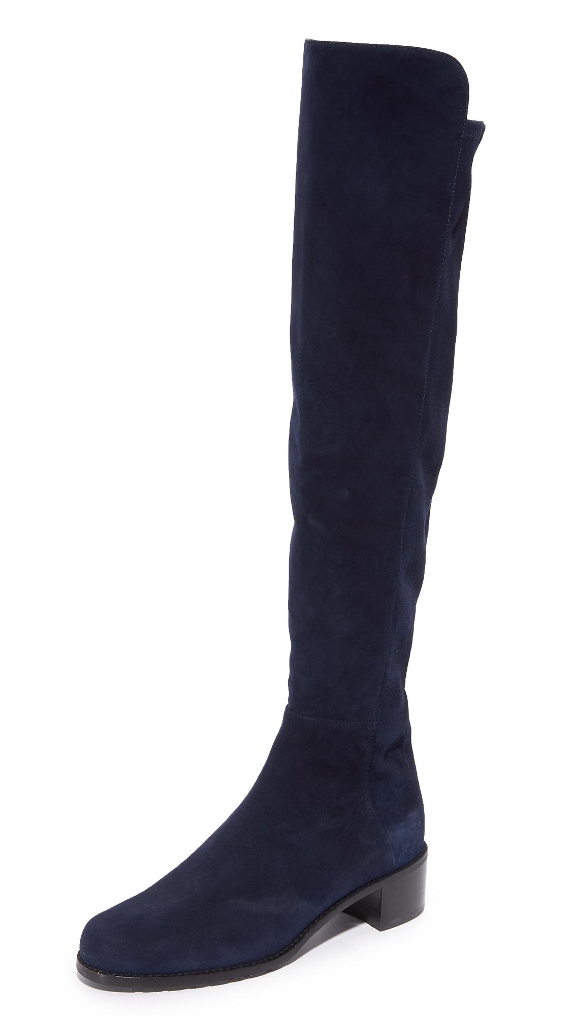 Stuart Weitzman All Serve Knee High Boots - Nice Blue