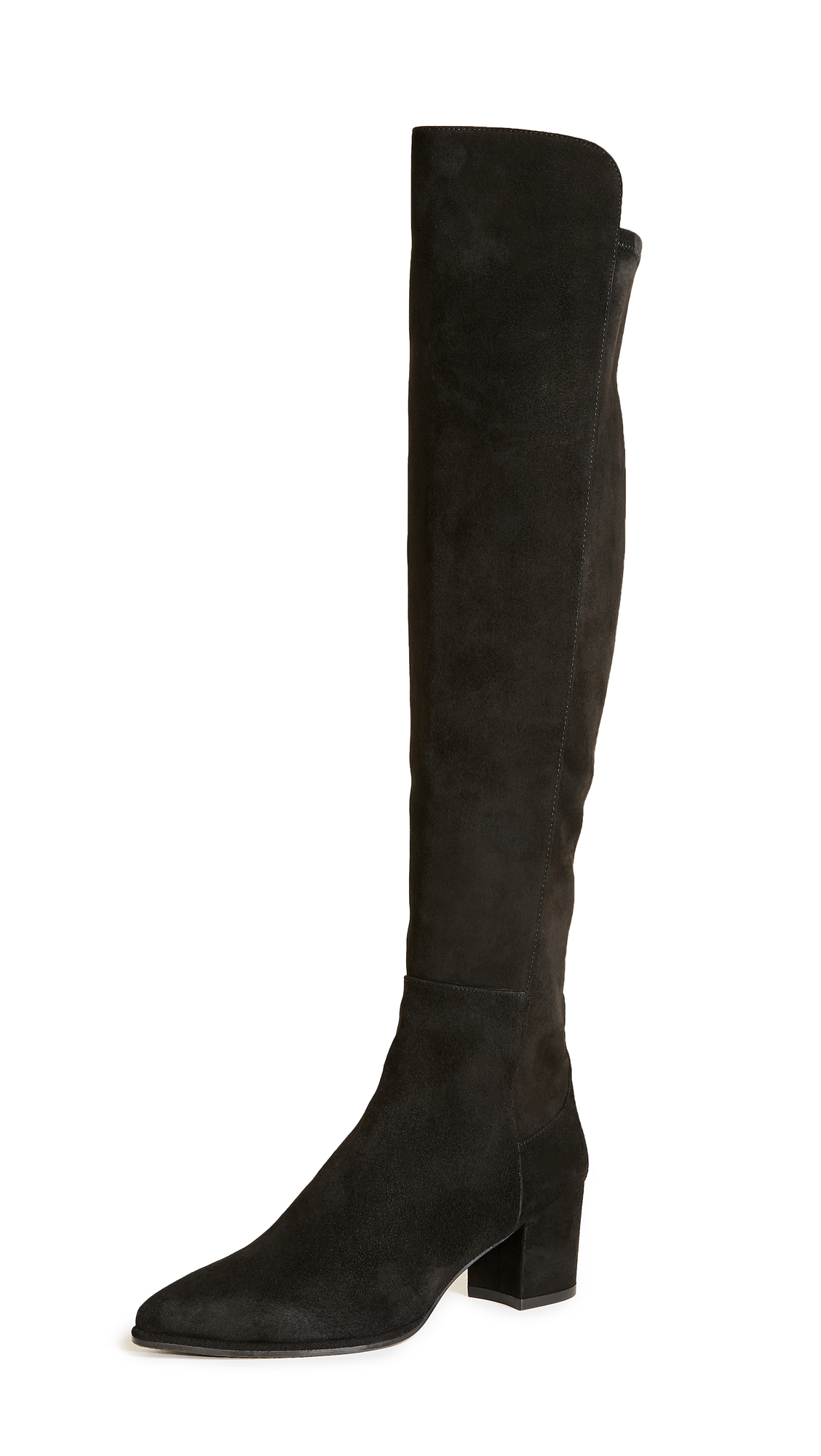 Stuart Weitzman Allways Knee High Boots - Black