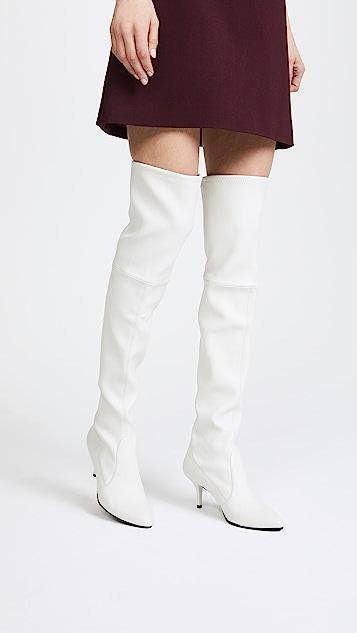 Stuart Weitzman Tie Model Thigh High Boots