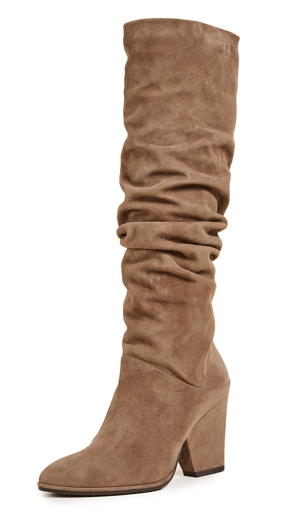 Stuart Weitzman Smashing Knee High Boots - Nutmeg