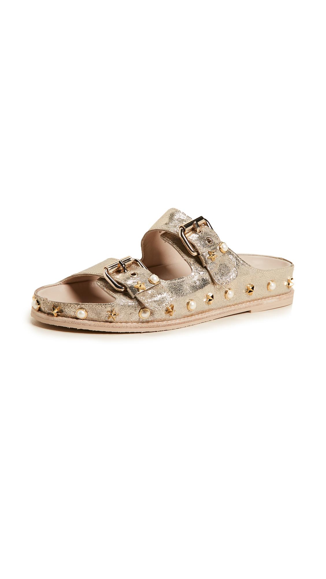 Stuart Weitzman Sandbar Sandals - Cava