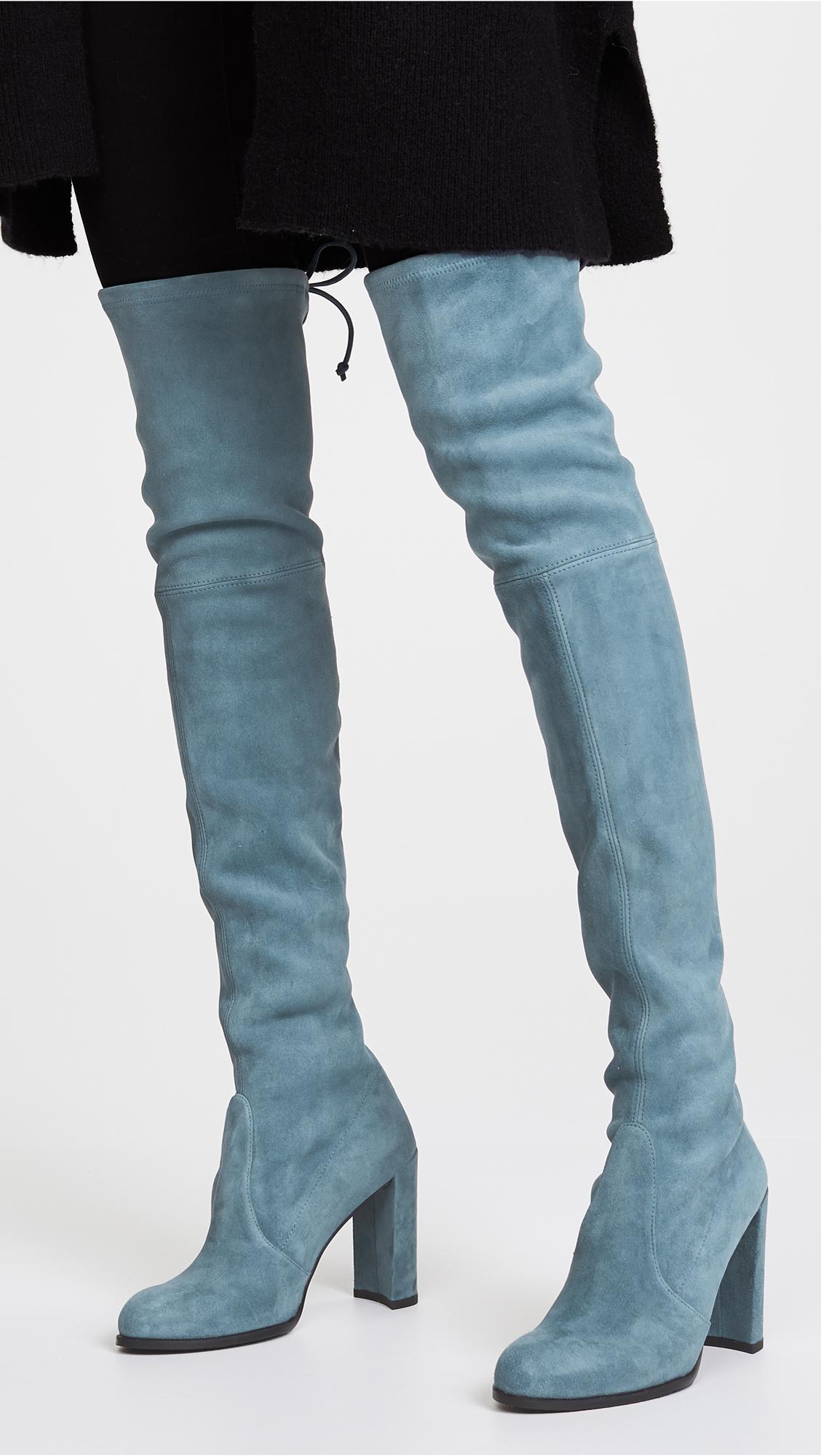 ece0921d86f Stuart Weitzman Hiline Thigh High Boots