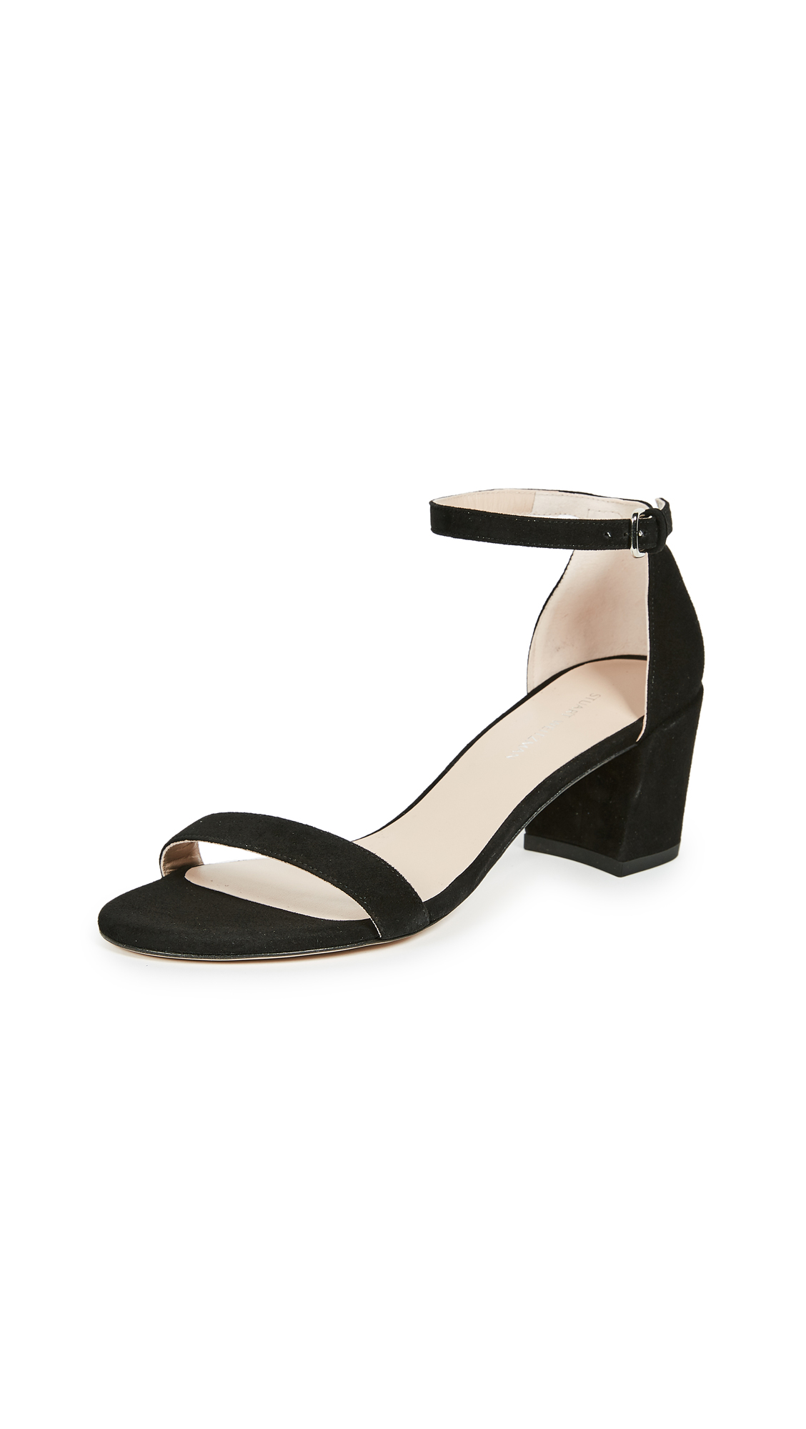 Stuart Weitzman Simple Sandals - Black