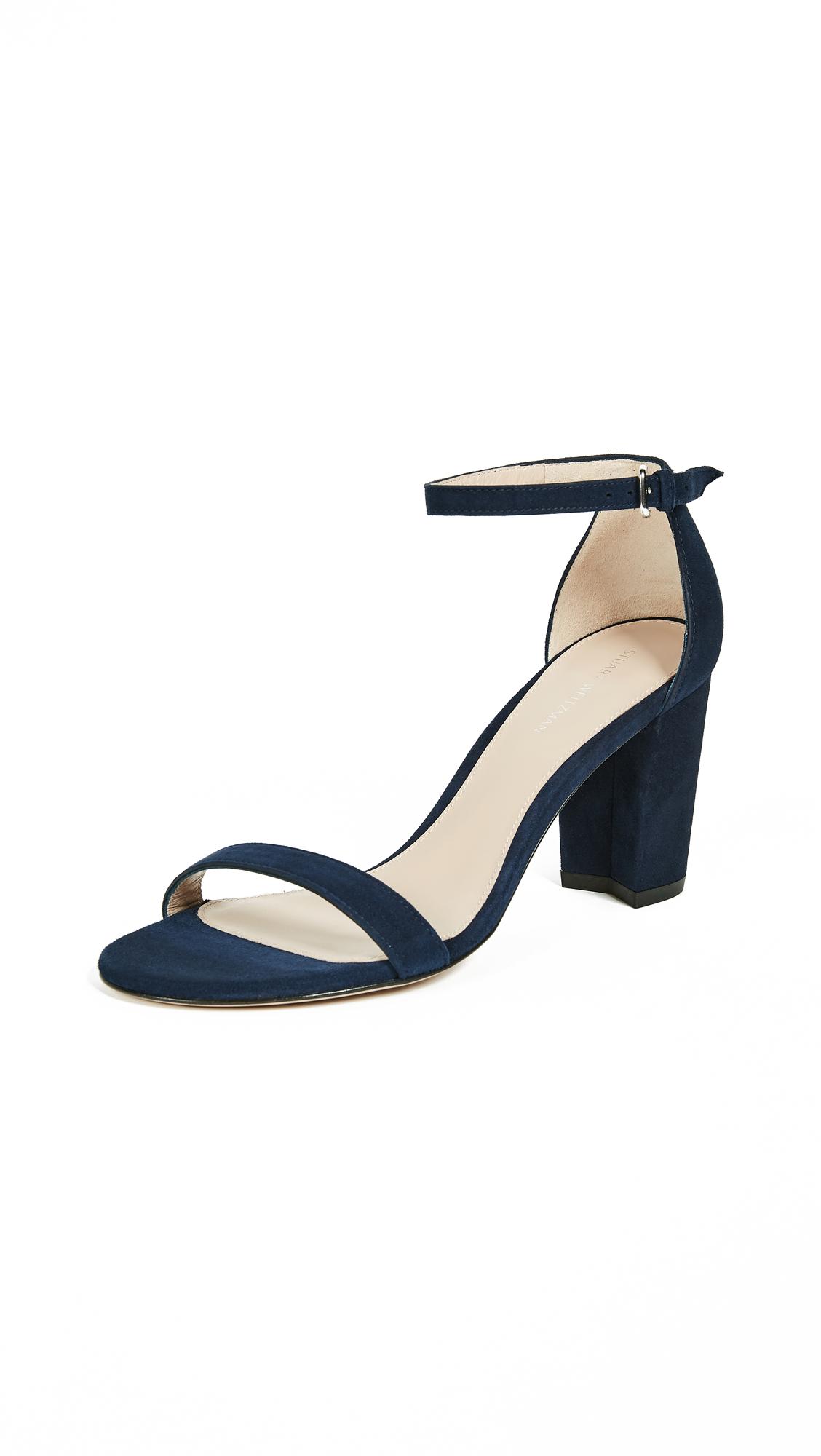 Stuart Weitzman Nearlynude Sandals - Nice Blue