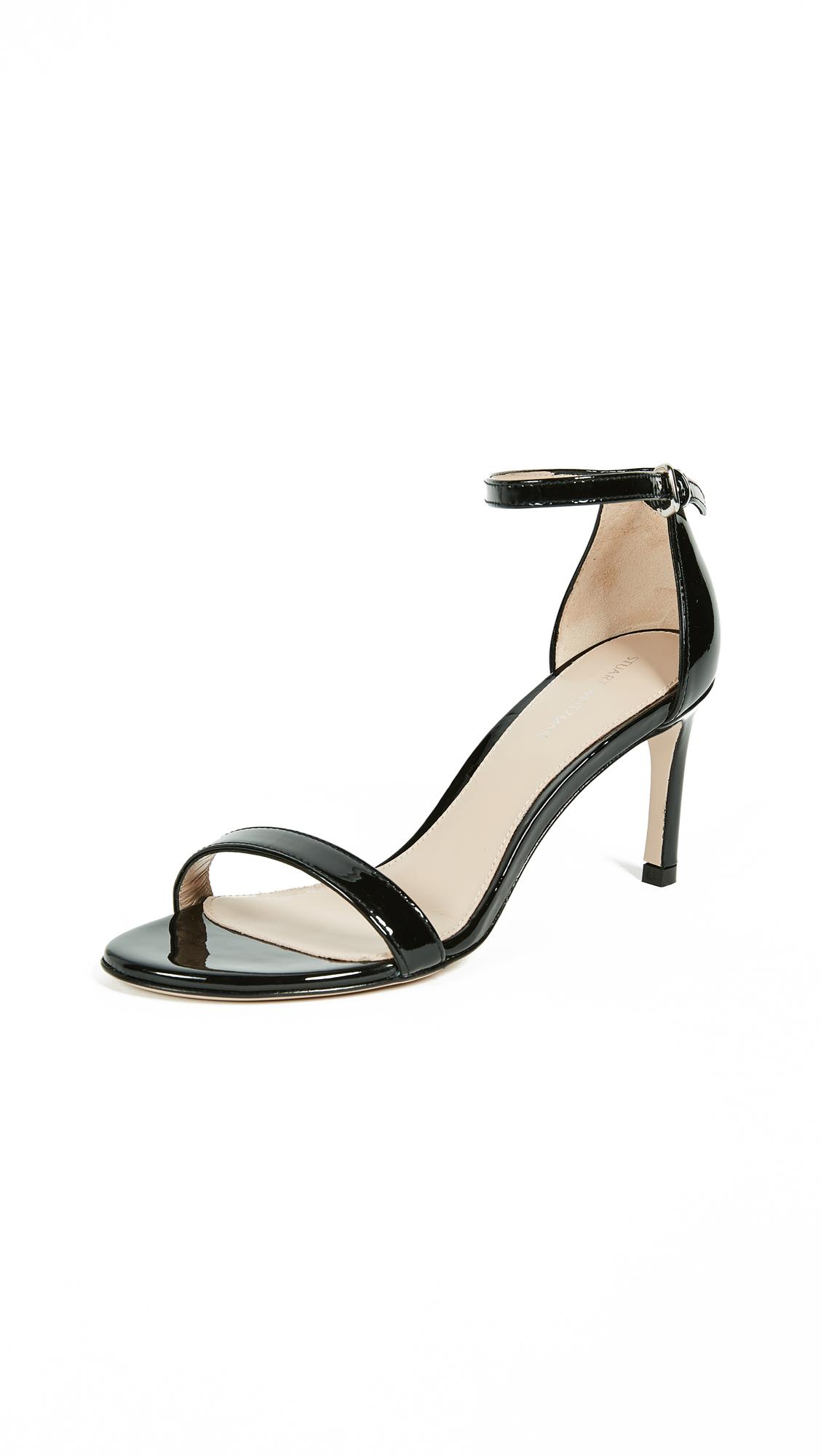 Stuart Weitzman Nunakedstraight Sandals - Black