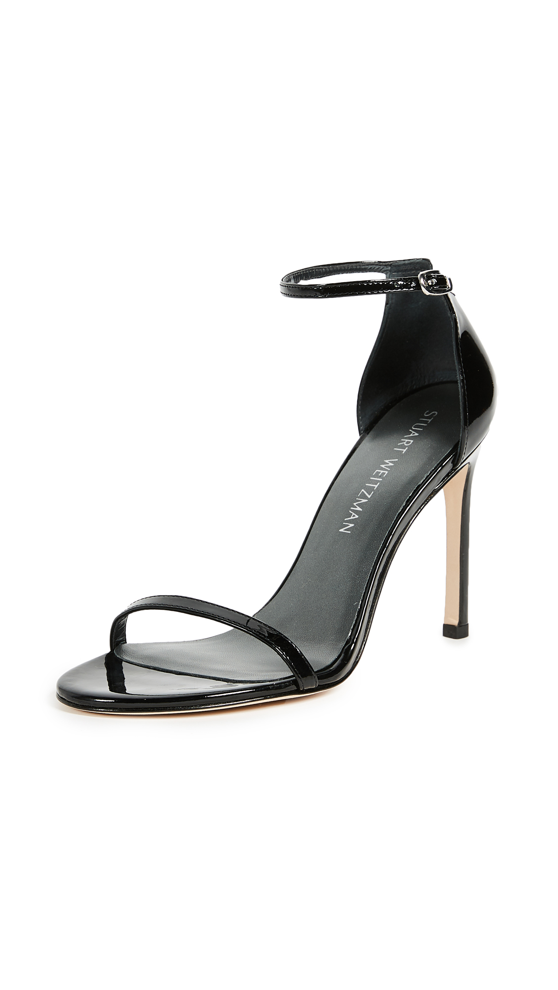 Stuart Weitzman Nudistsong 90mm Sandals - Black