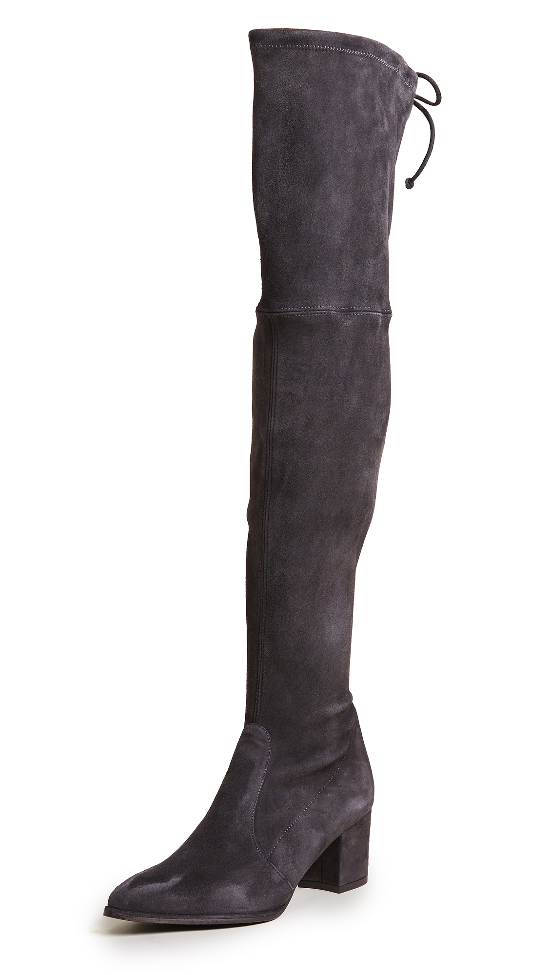 Stuart Weitzman Thighland Over the Knee Boots - Slate