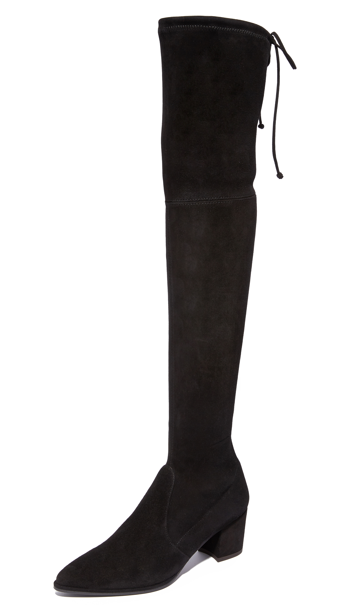 Stuart Weitzman Thighland Over the Knee Boots - Black