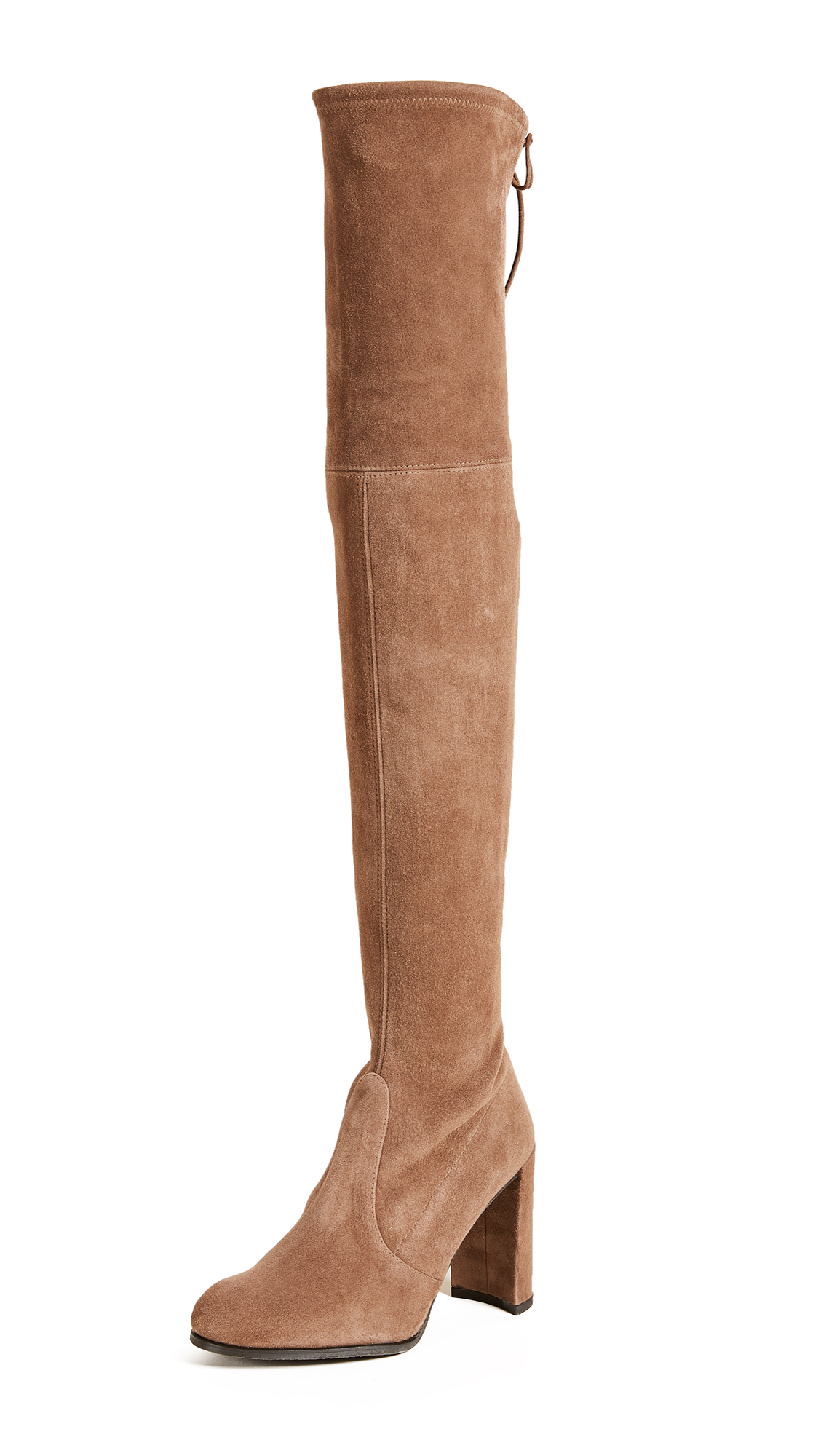 Stuart Weitzman Hiline Over the Knee Boots - Nutmeg