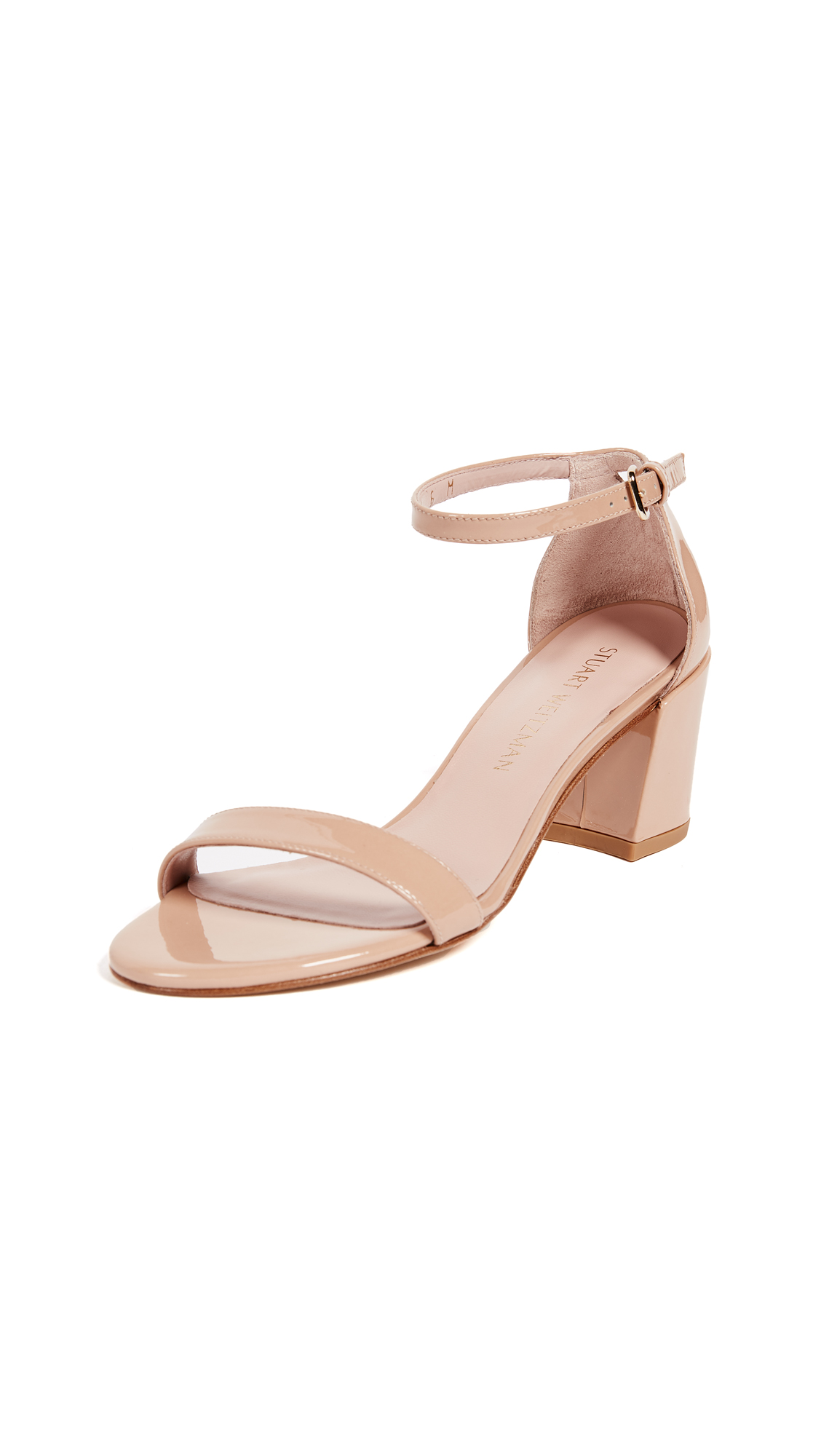 Stuart Weitzman Simple Sandals - Adobe