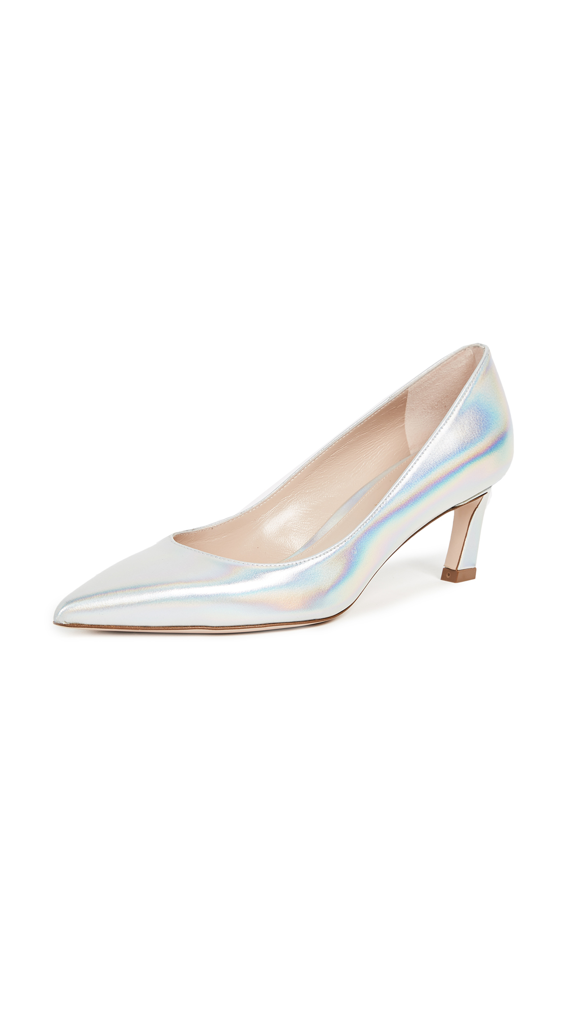 Stuart Weitzman Chicory Pumps - Moonshine