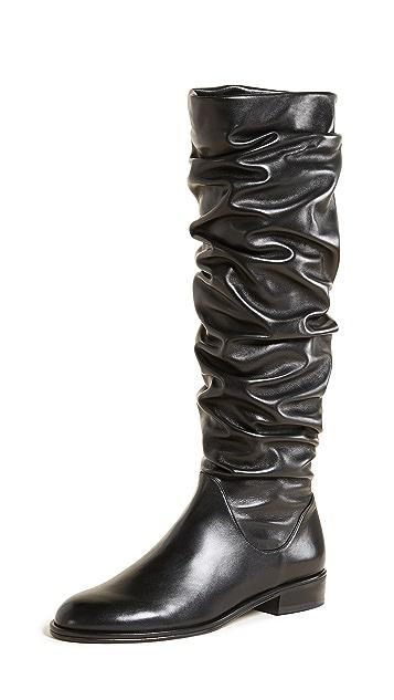 Stuart Weitzman Flatscrunchy Boots