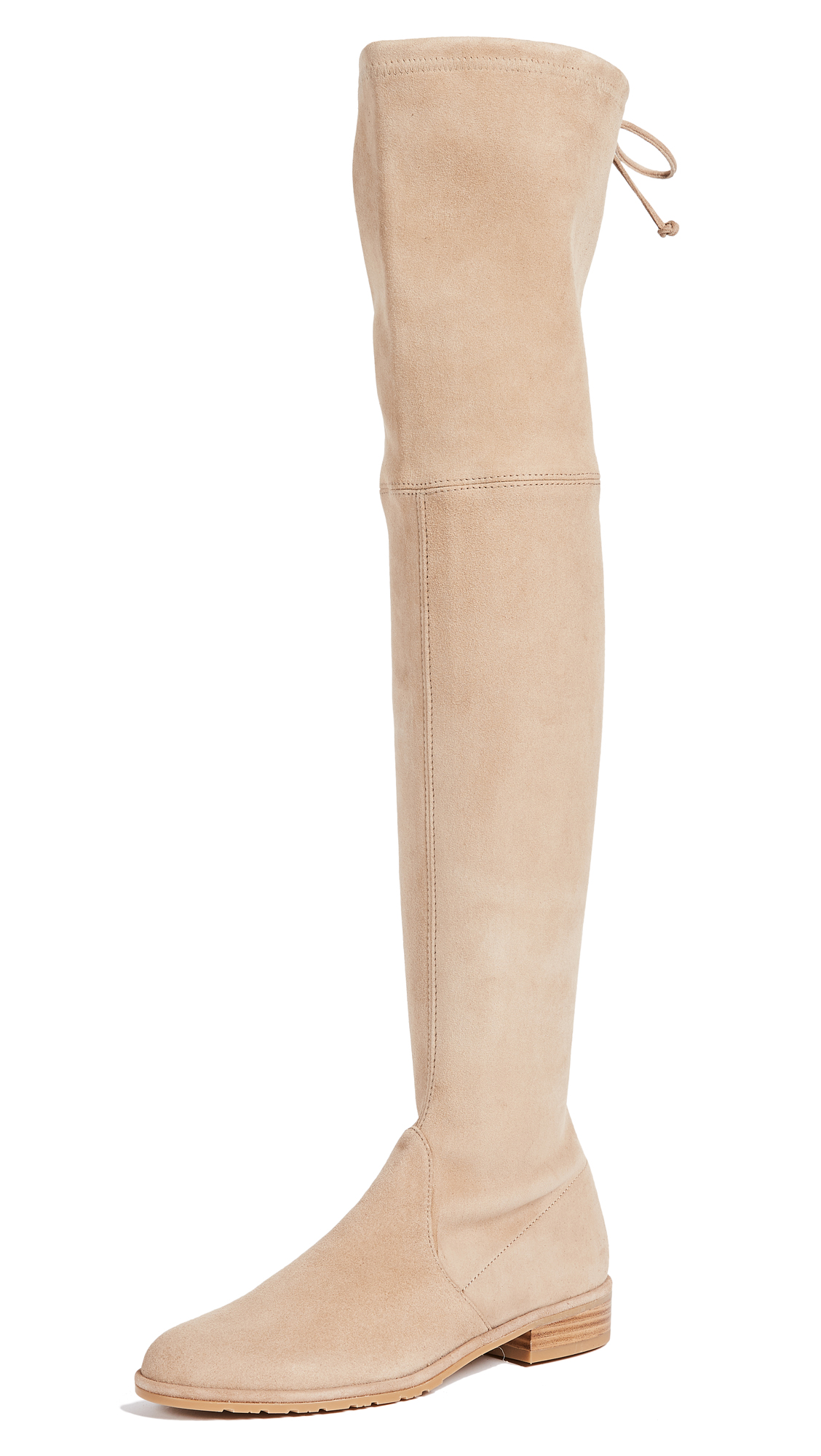 Stuart Weitzman Lowland Over the Knee Boots - Mojave