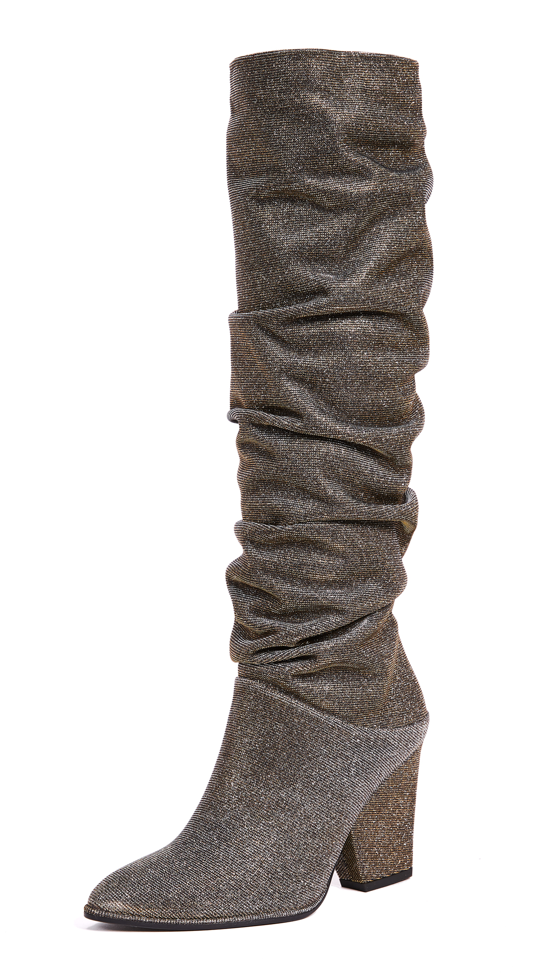 Stuart Weitzman Smashing Knee High Boots - Pyrite