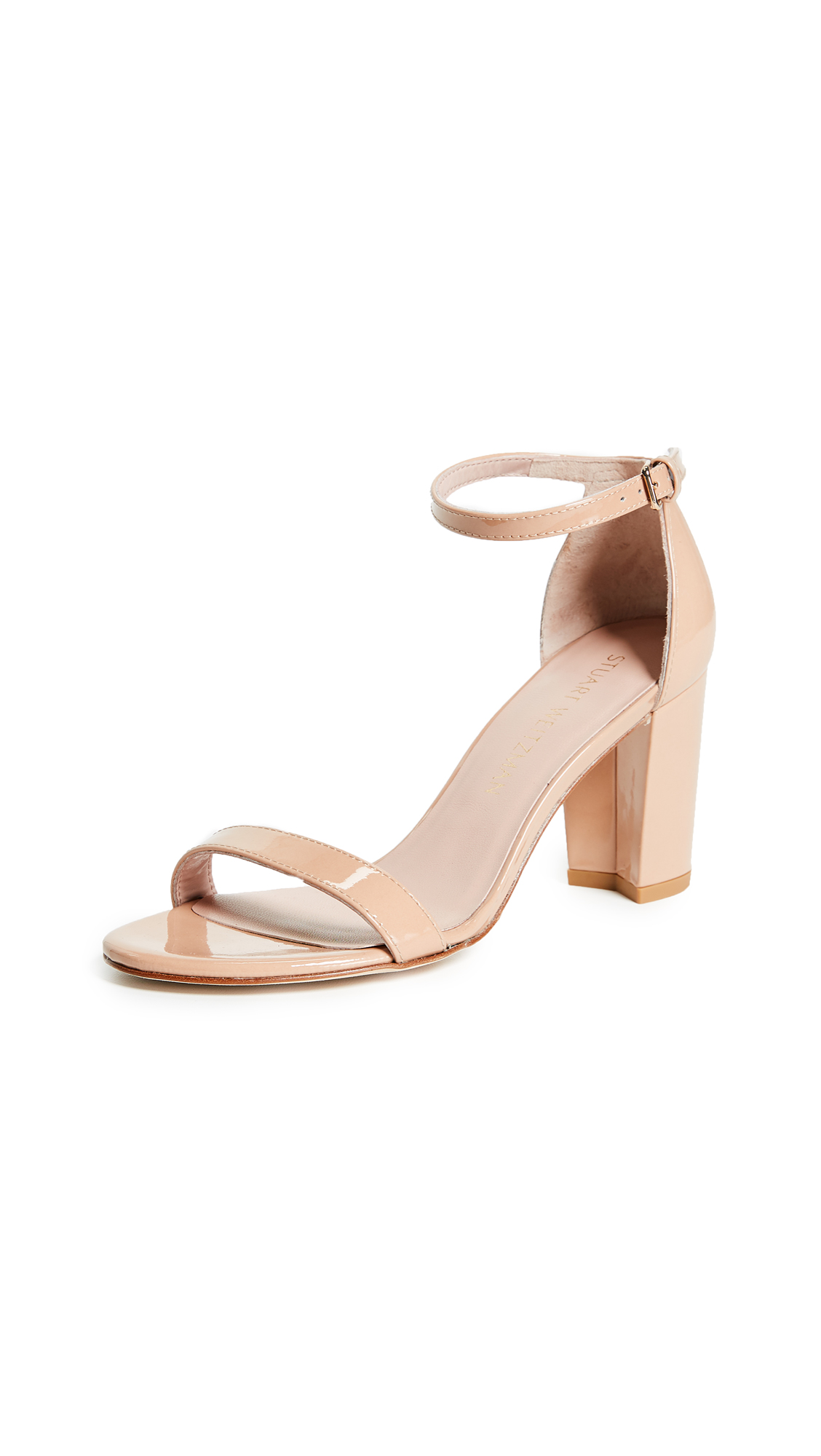 Stuart Weitzman Nearlynude Sandals - Adobe
