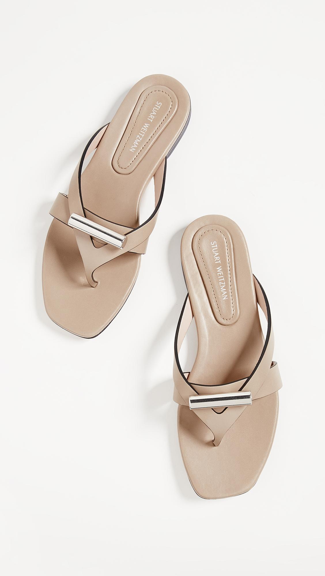 c1a5da242b6 Stuart Weitzman Arro Thong Sandals