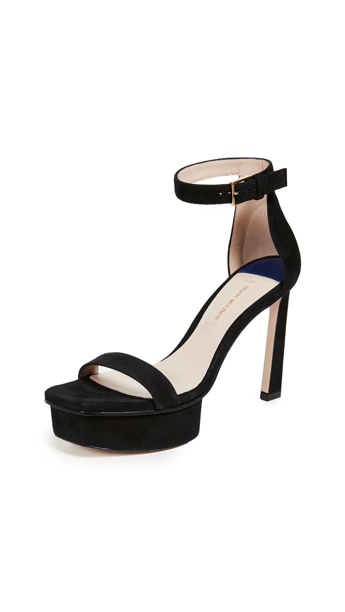 Stuart Weitzman Disco Sandals - Black