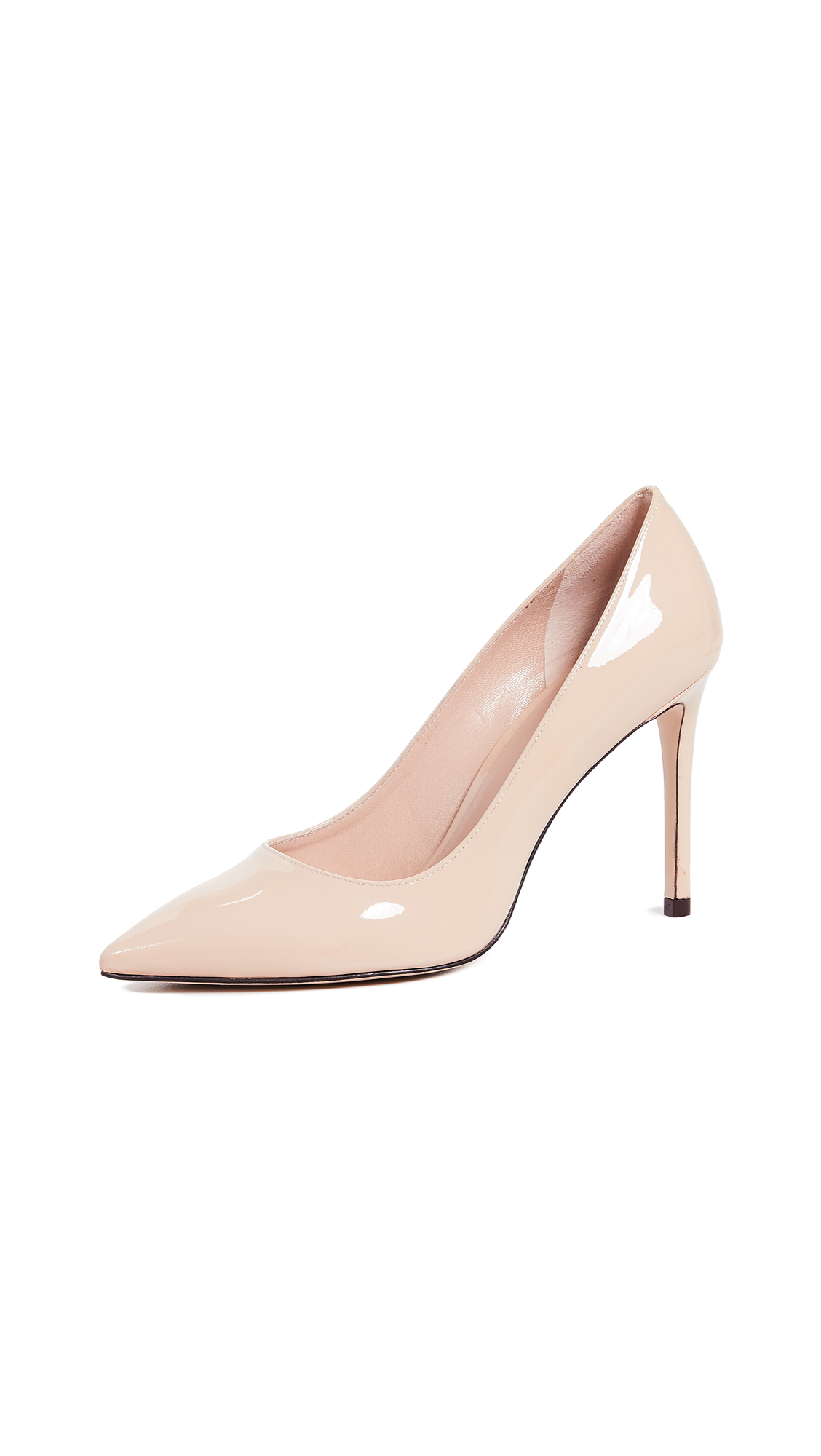 Stuart Weitzman Leigh 95mm Pumps - Cafe