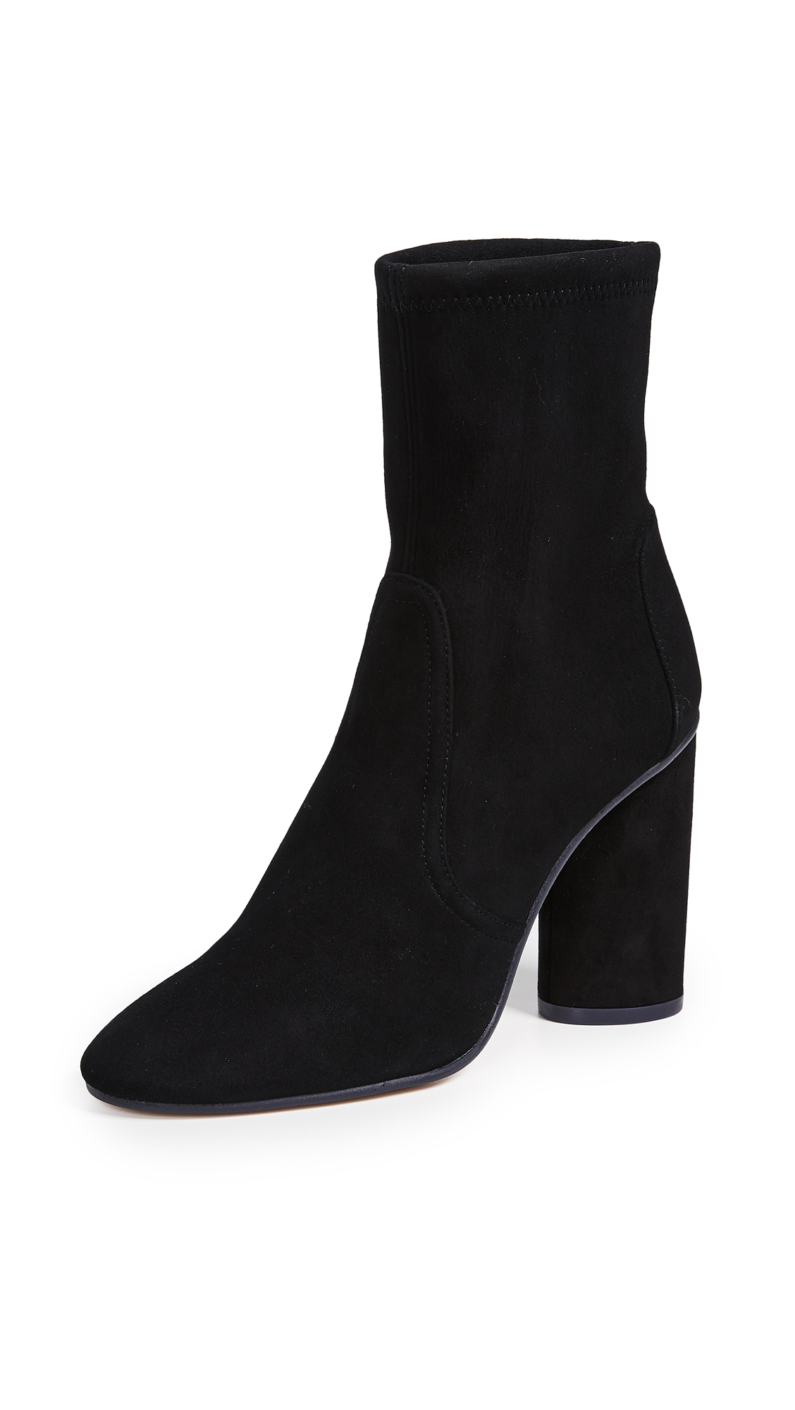 Stuart Weitzman Margot Booties - Black