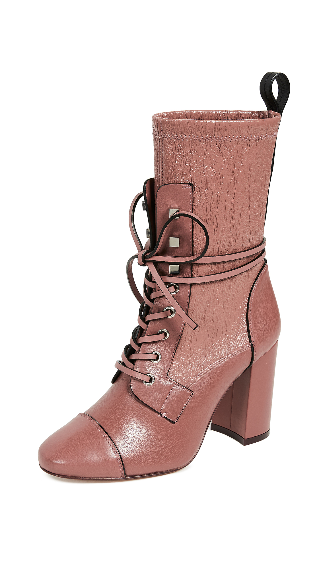 Stuart Weitzman Veruka Boots - Rose Clay