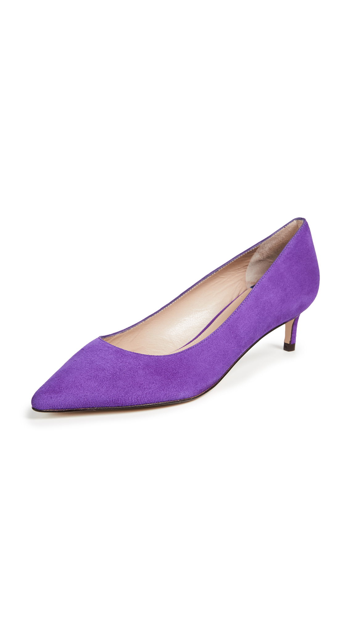 Stuart Weitzman Leigh 45mm Pumps - Hyacinth