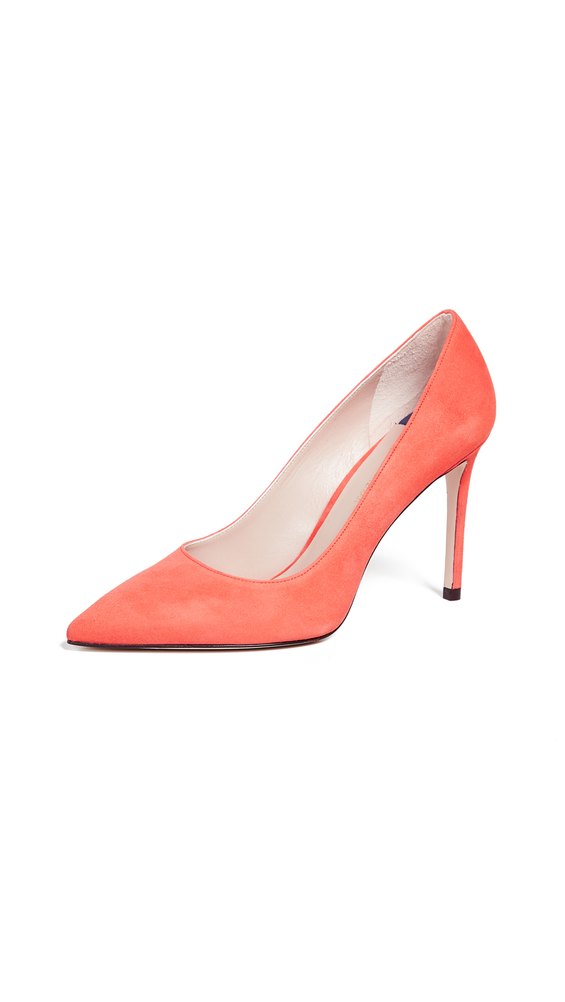 Stuart Weitzman Leigh 95mm Pumps - Fire