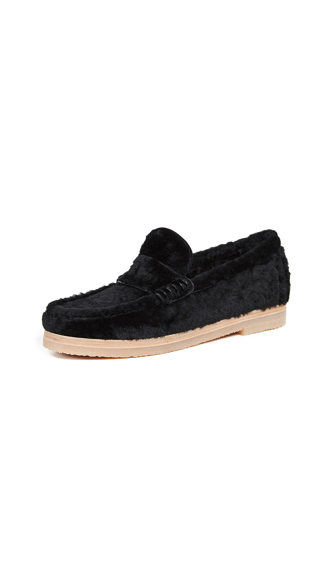 Stuart Weitzman Bromley Loafers - Black