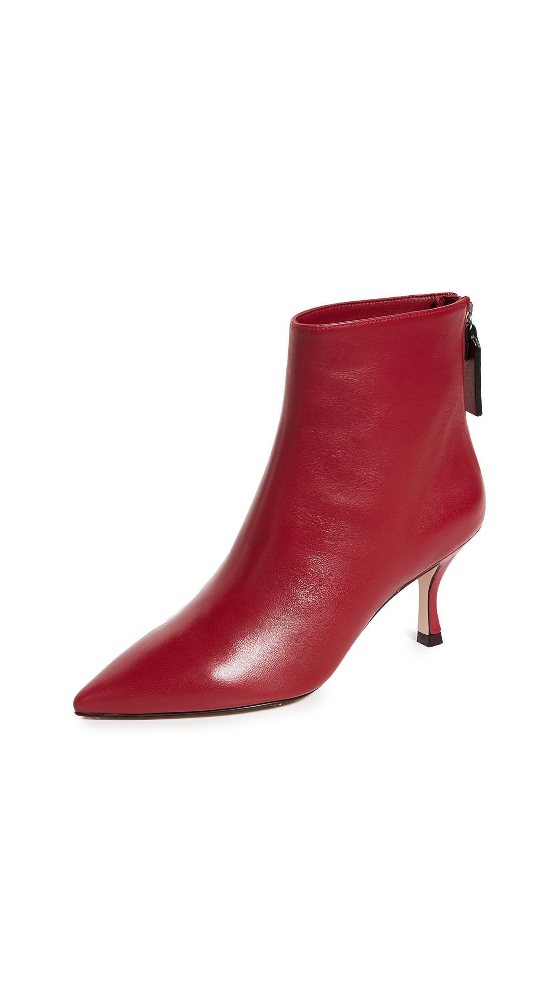 Stuart Weitzman Juniper 70mm Booties - Crimson