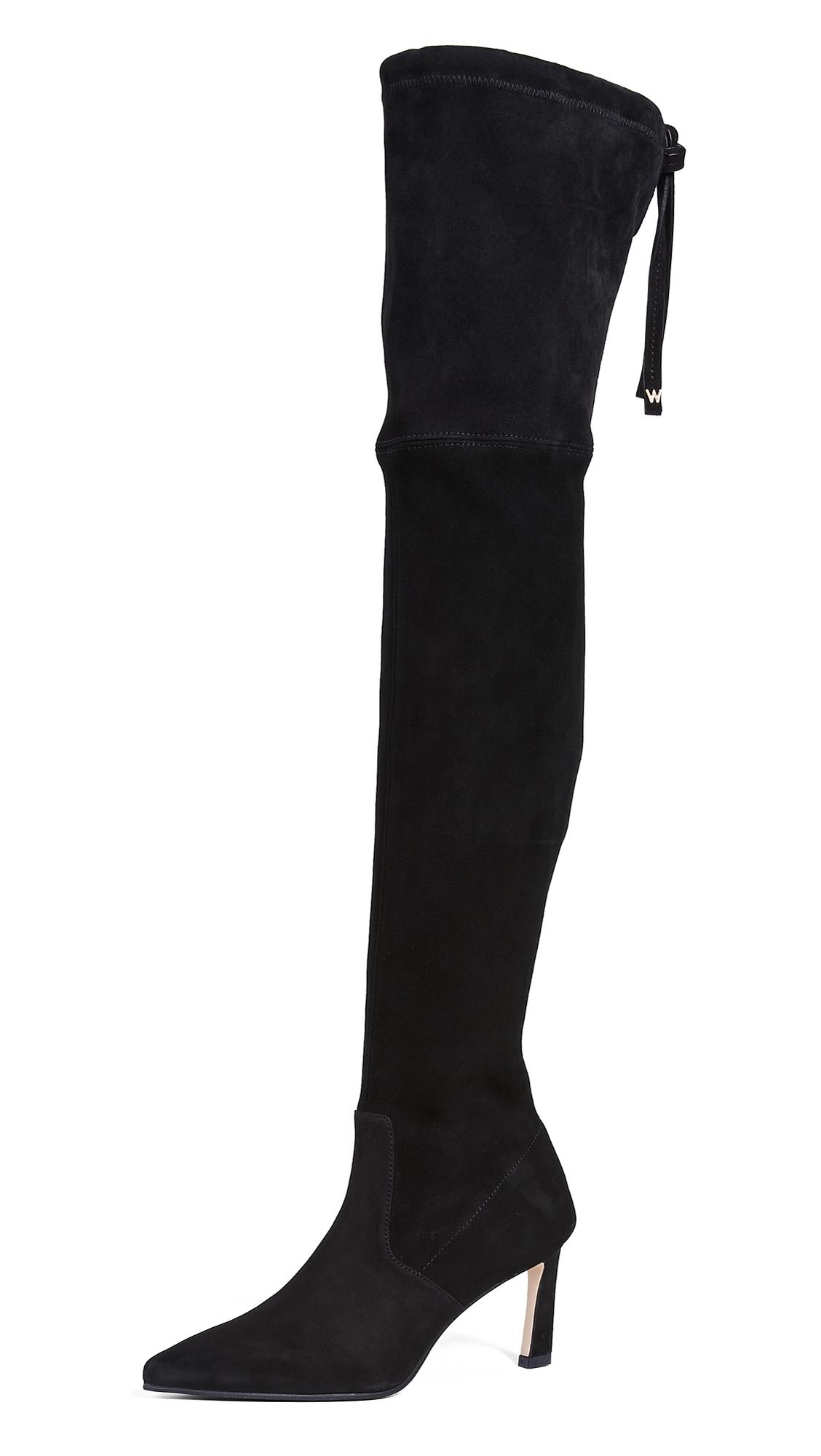 Stuart Weitzman Natalia 75mm Boots - Black