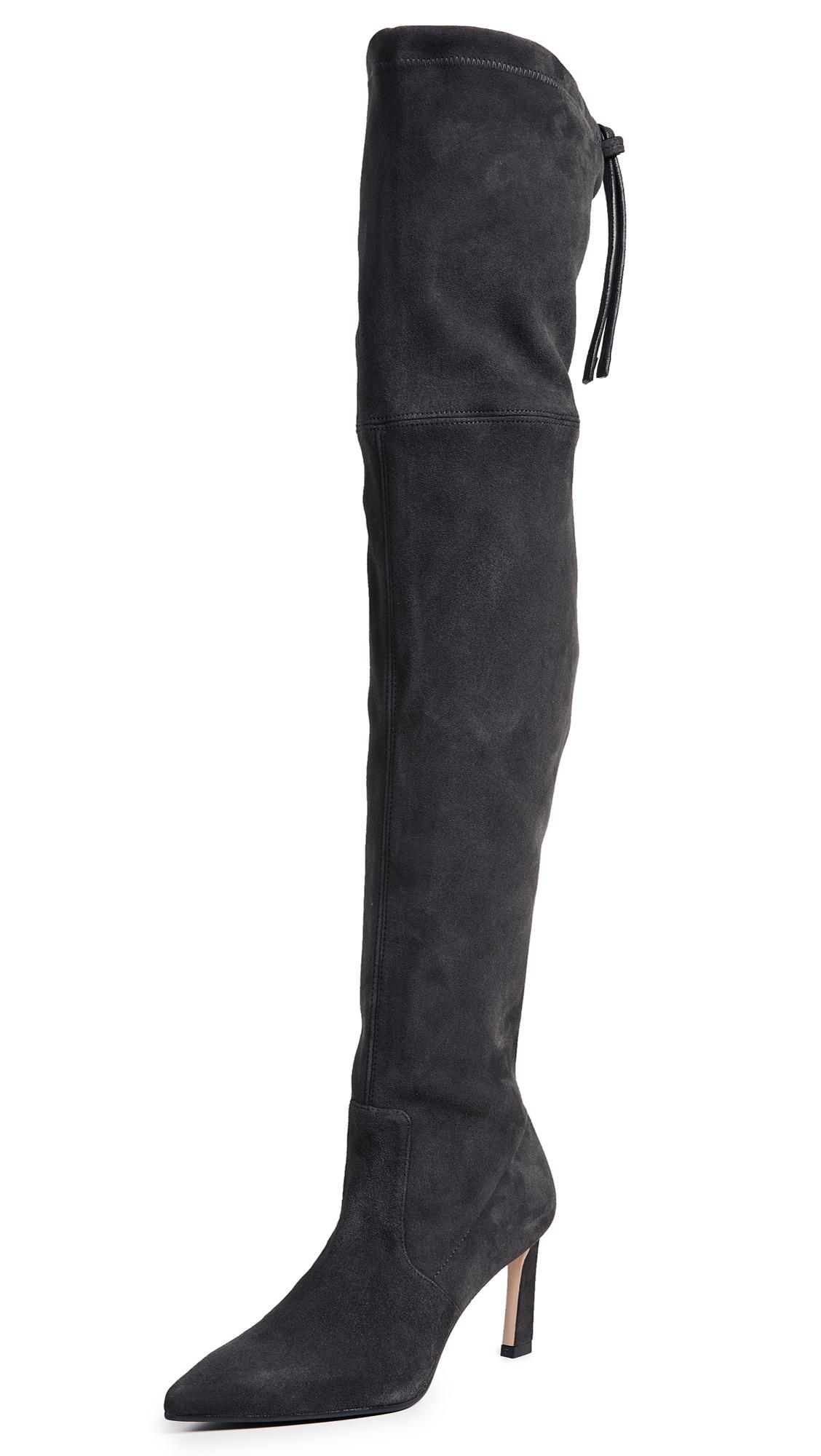 Stuart Weitzman Natalia 75mm Boots - Asphalt