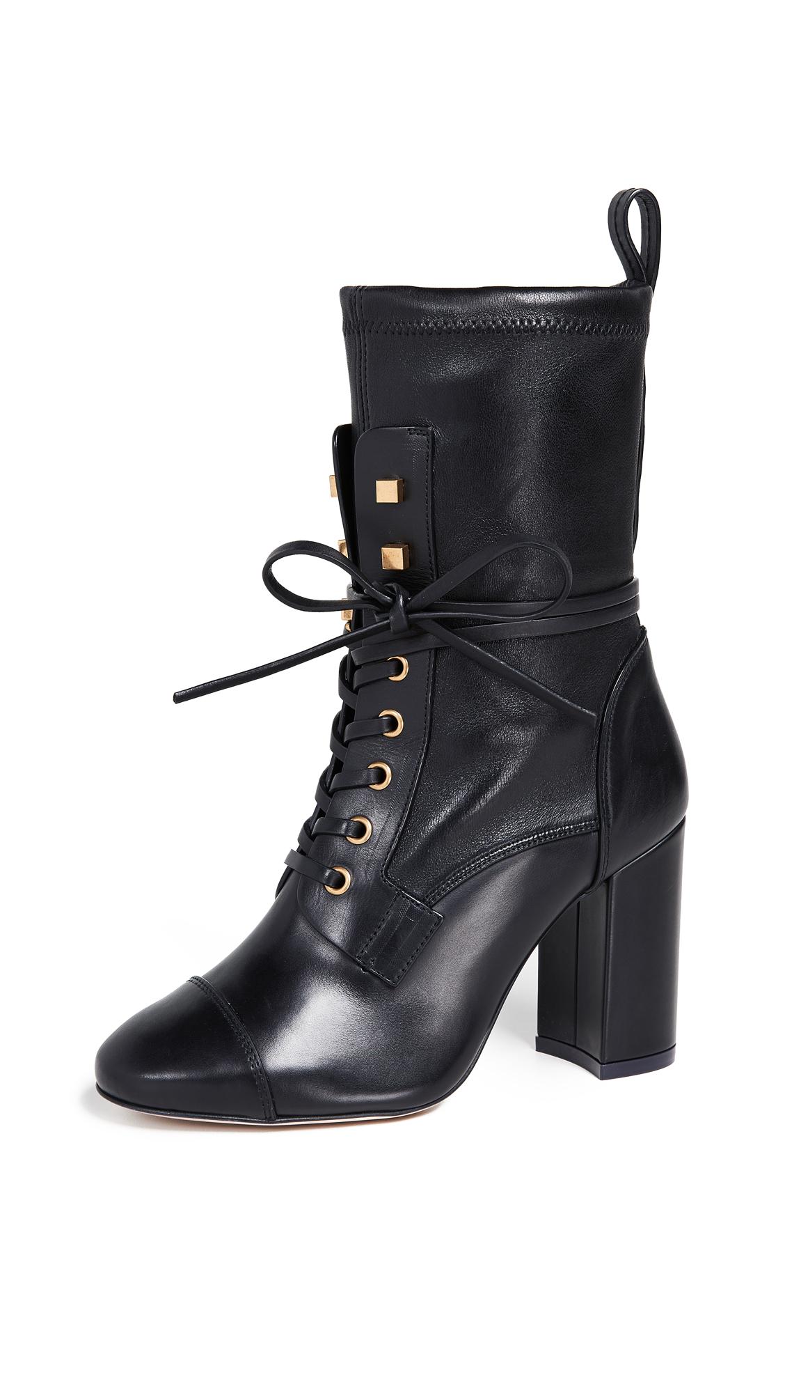 Stuart Weitzman Veruka Boots - Black