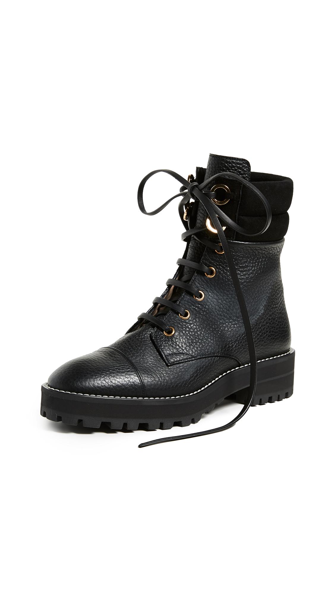 Stuart Weitzman Lexy Boots - Black