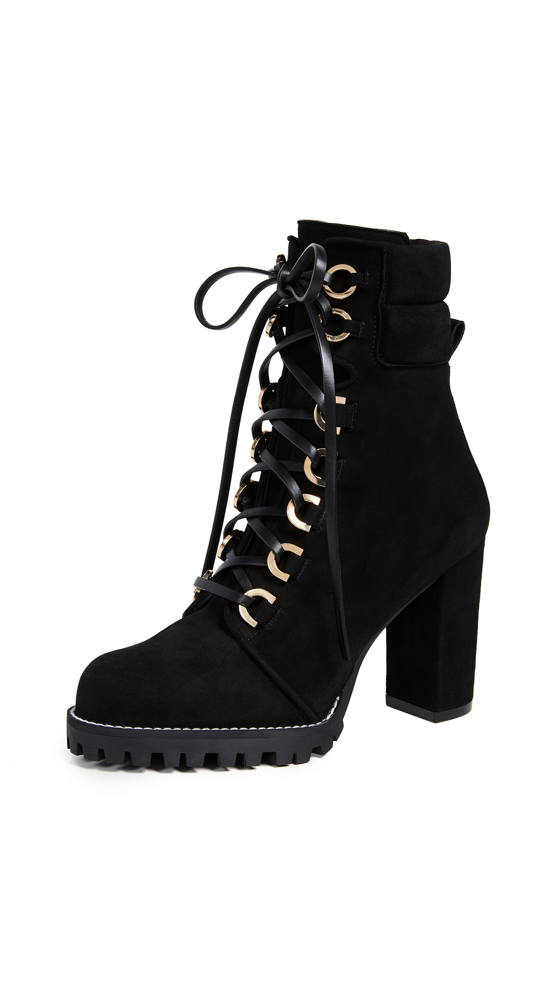 Stuart Weitzman Shackleton Boots - Black