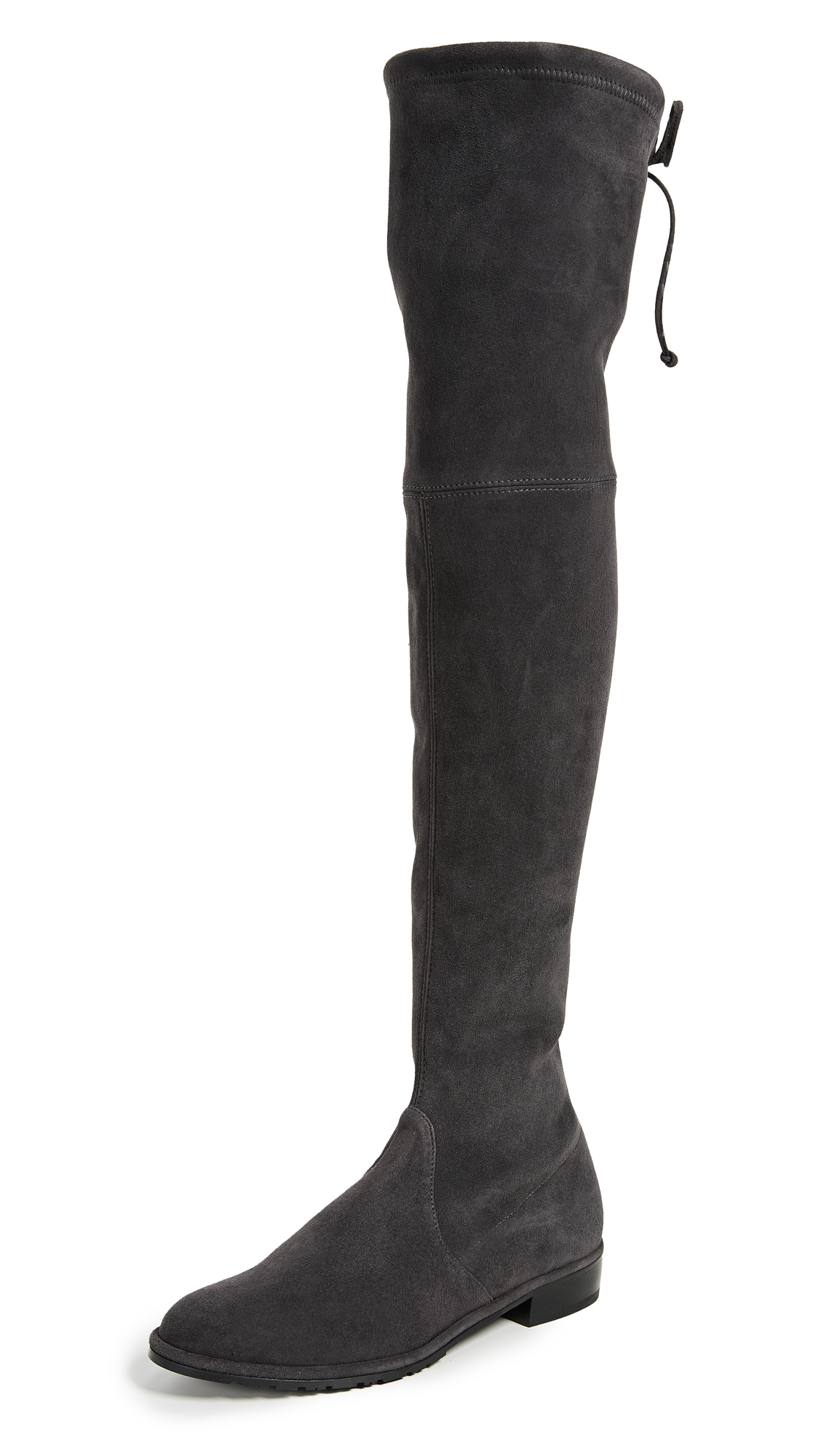 Stuart Weitzman Lowland Over the Knee Boots - Asphalt