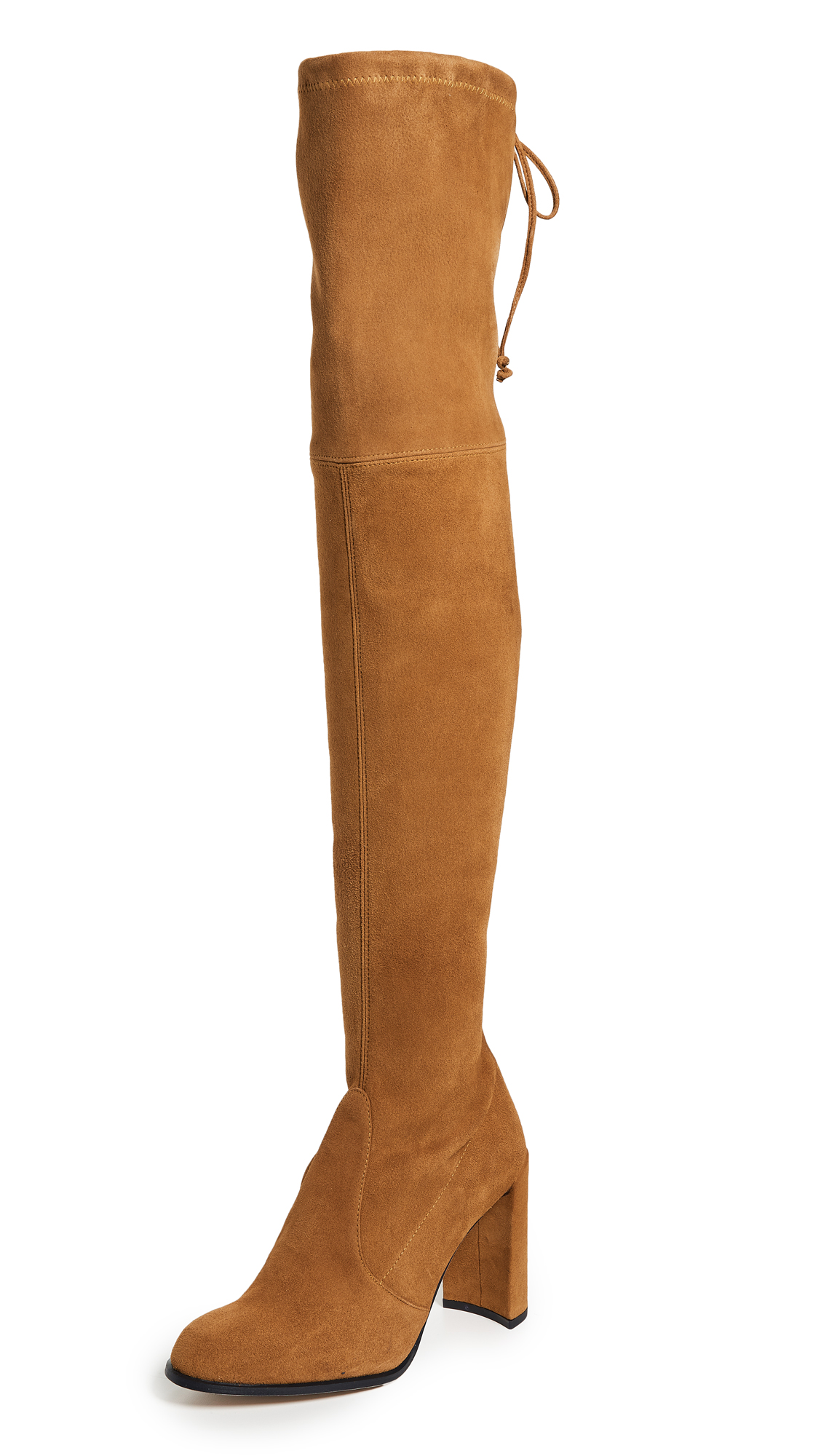 Stuart Weitzman Hiline Over the Knee Boots - Bridle