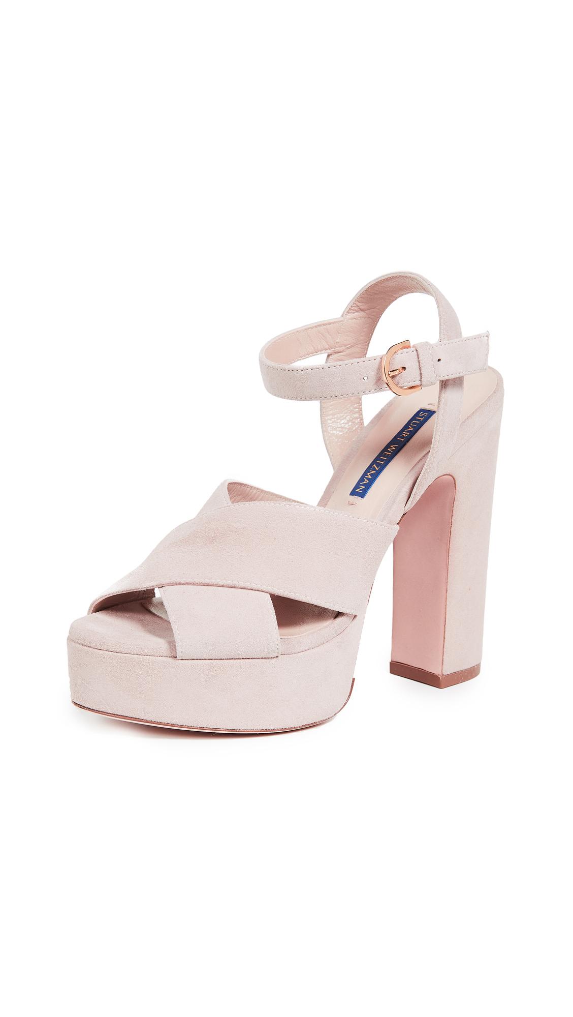 Stuart Weitzman Joni Platform Sandals - Dolce
