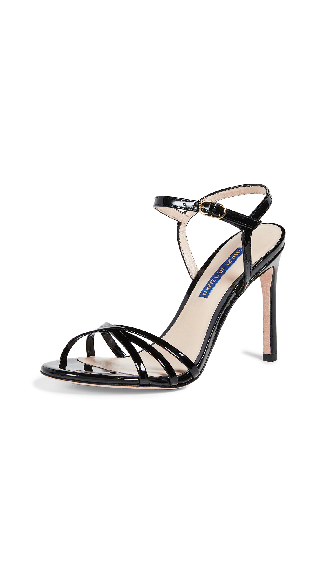 Stuart Weitzman Starla 105 Sandals - Black