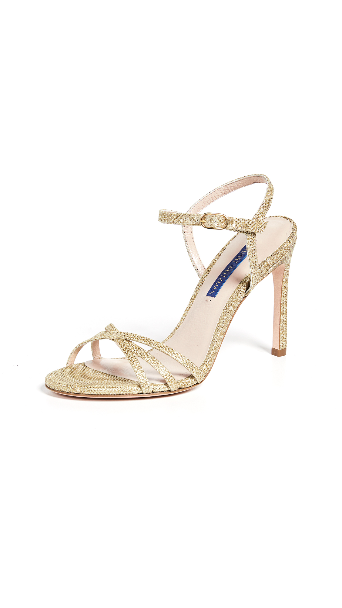 Stuart Weitzman Starla 105 Sandals - Gold