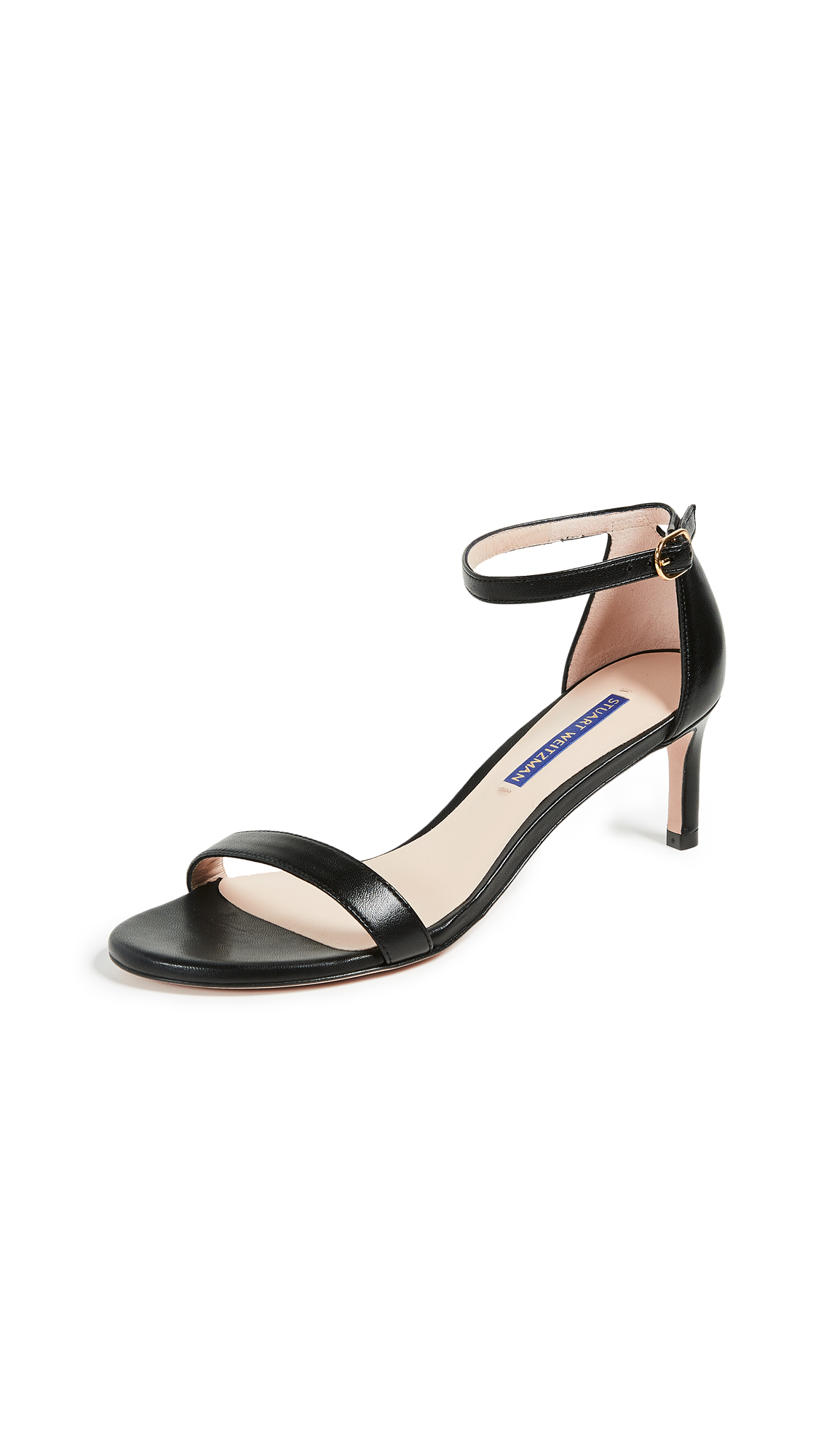 Stuart Weitzman The Nunakedstraight 60mm Sandals - Black