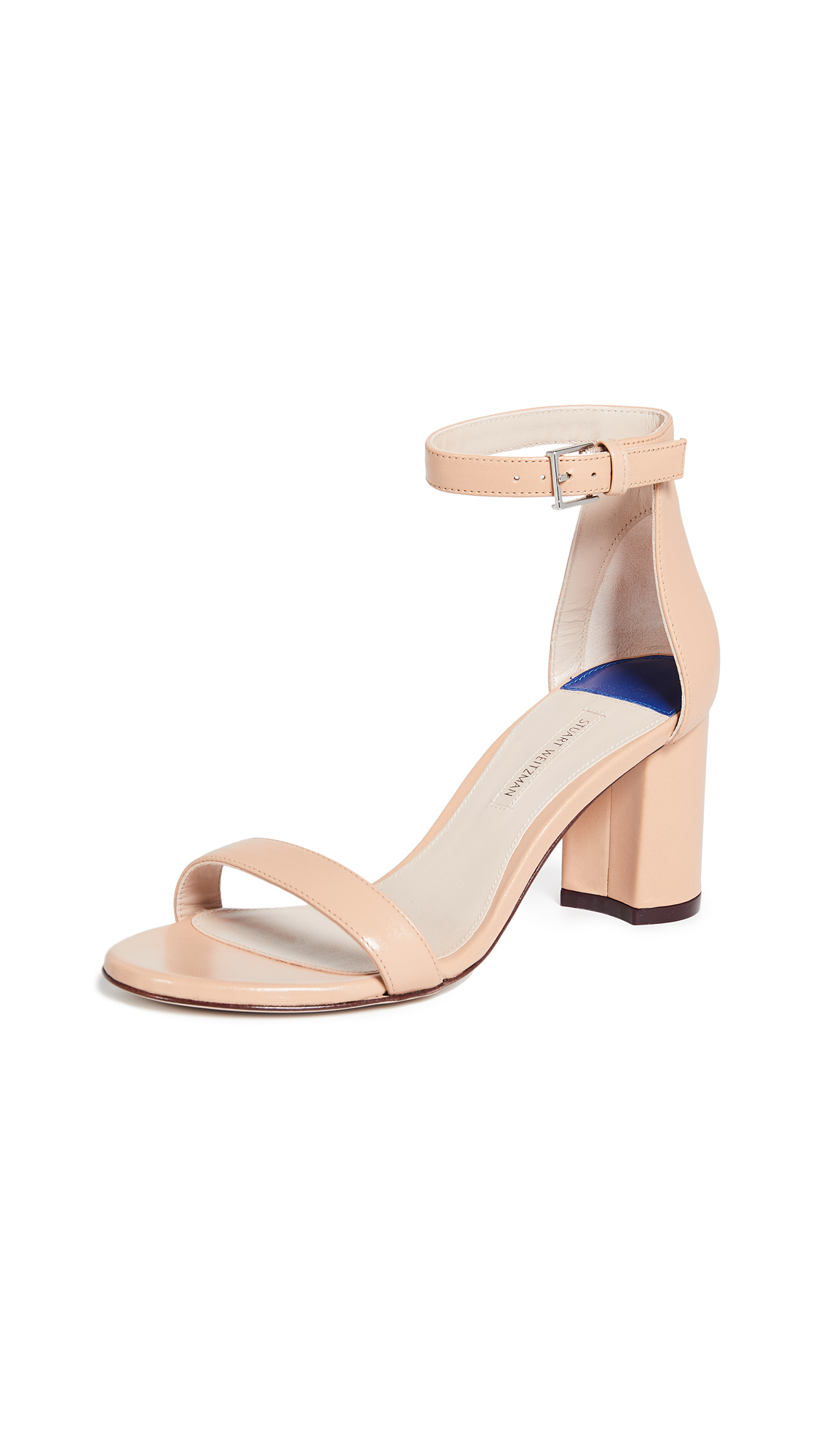 Stuart Weitzman Less Nudist 75mm Sandals - Bambina