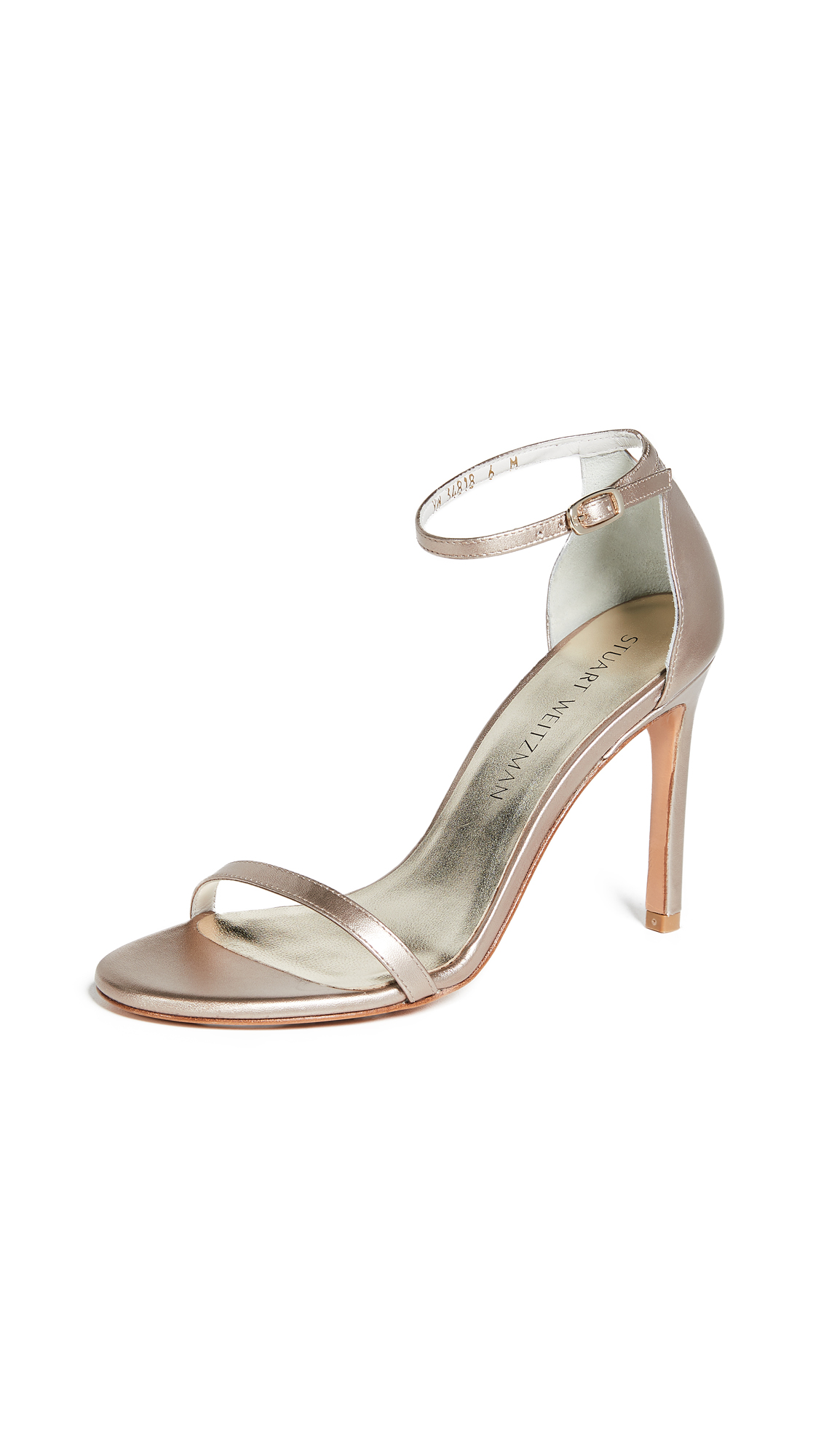 Stuart Weitzman Nudistsong 90mm Sandals - Supple Beige