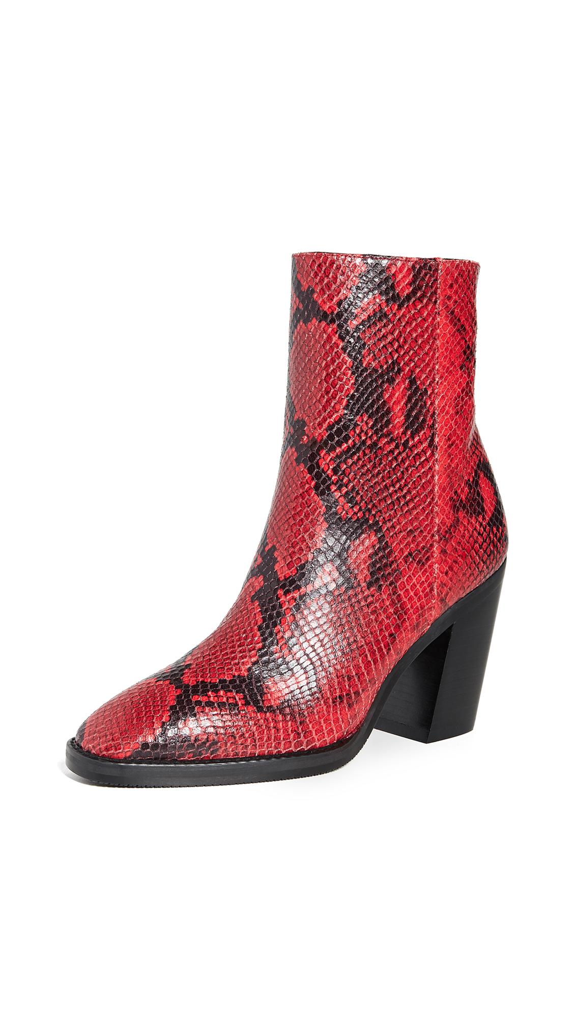 Stuart Weitzman Wynter Boots - Follow Me Red