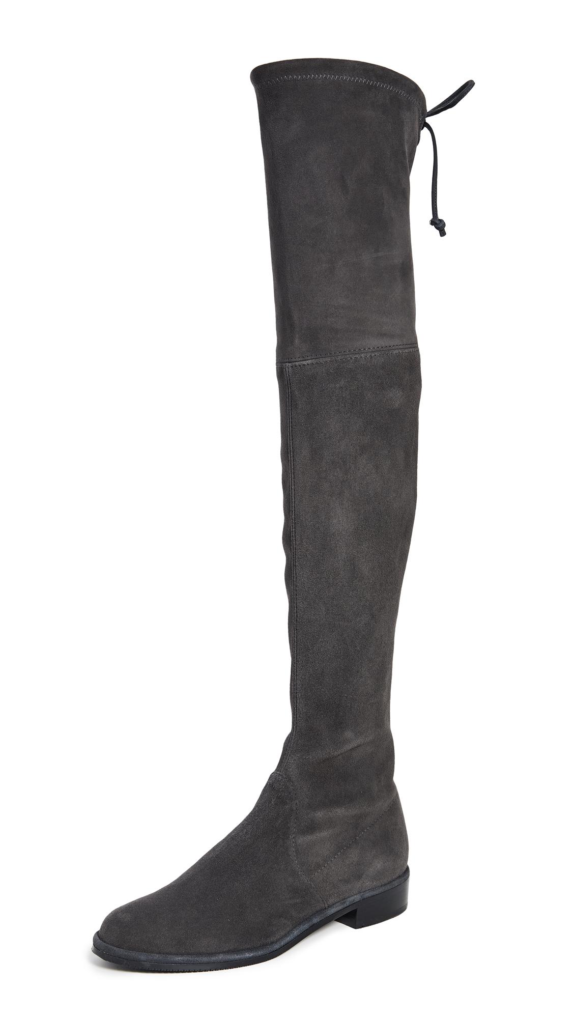 Stuart Weitzman Lowland Over The Knee Boots - Slate