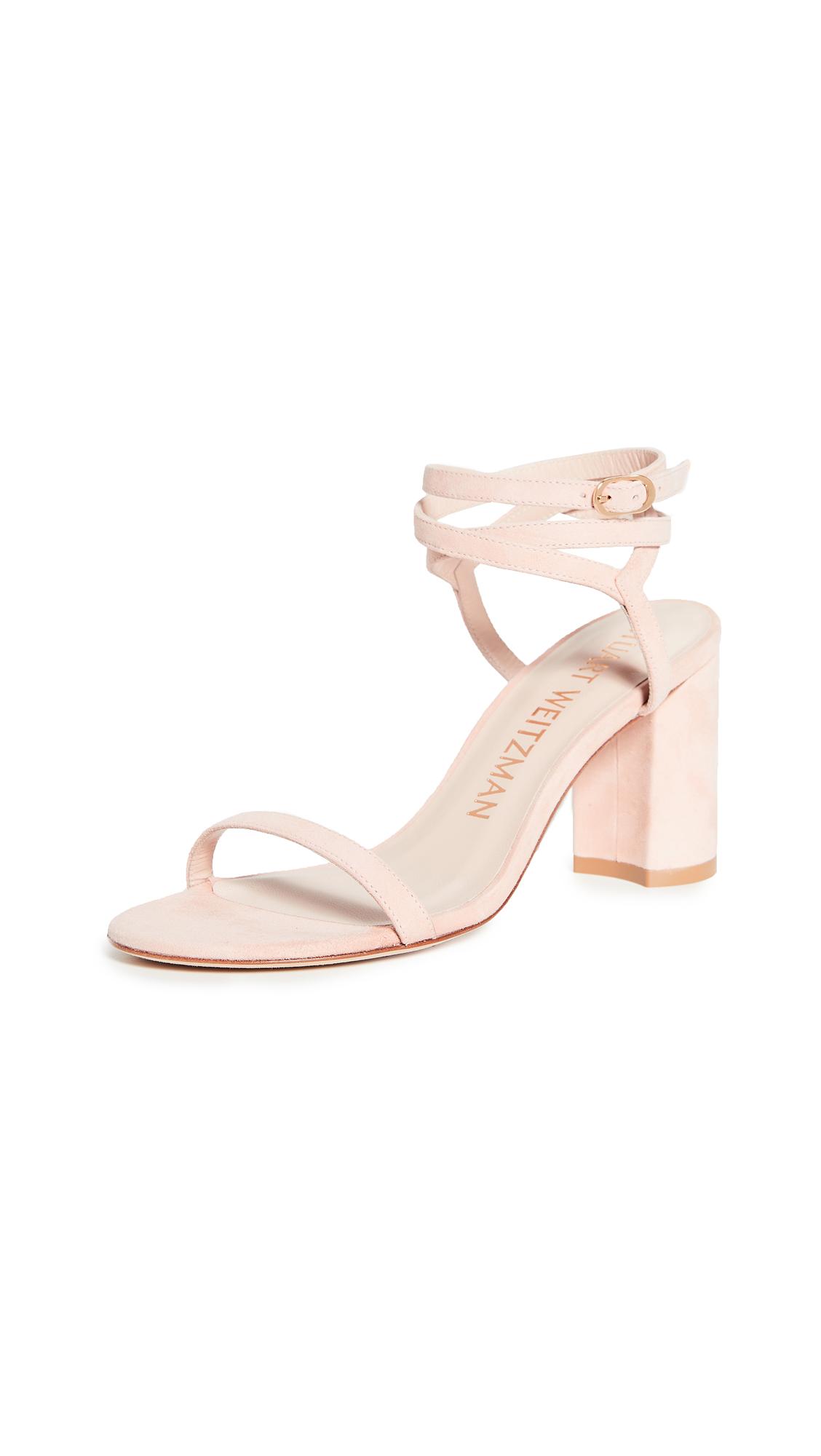 Buy Stuart Weitzman Merinda Block Sandals online, shop Stuart Weitzman
