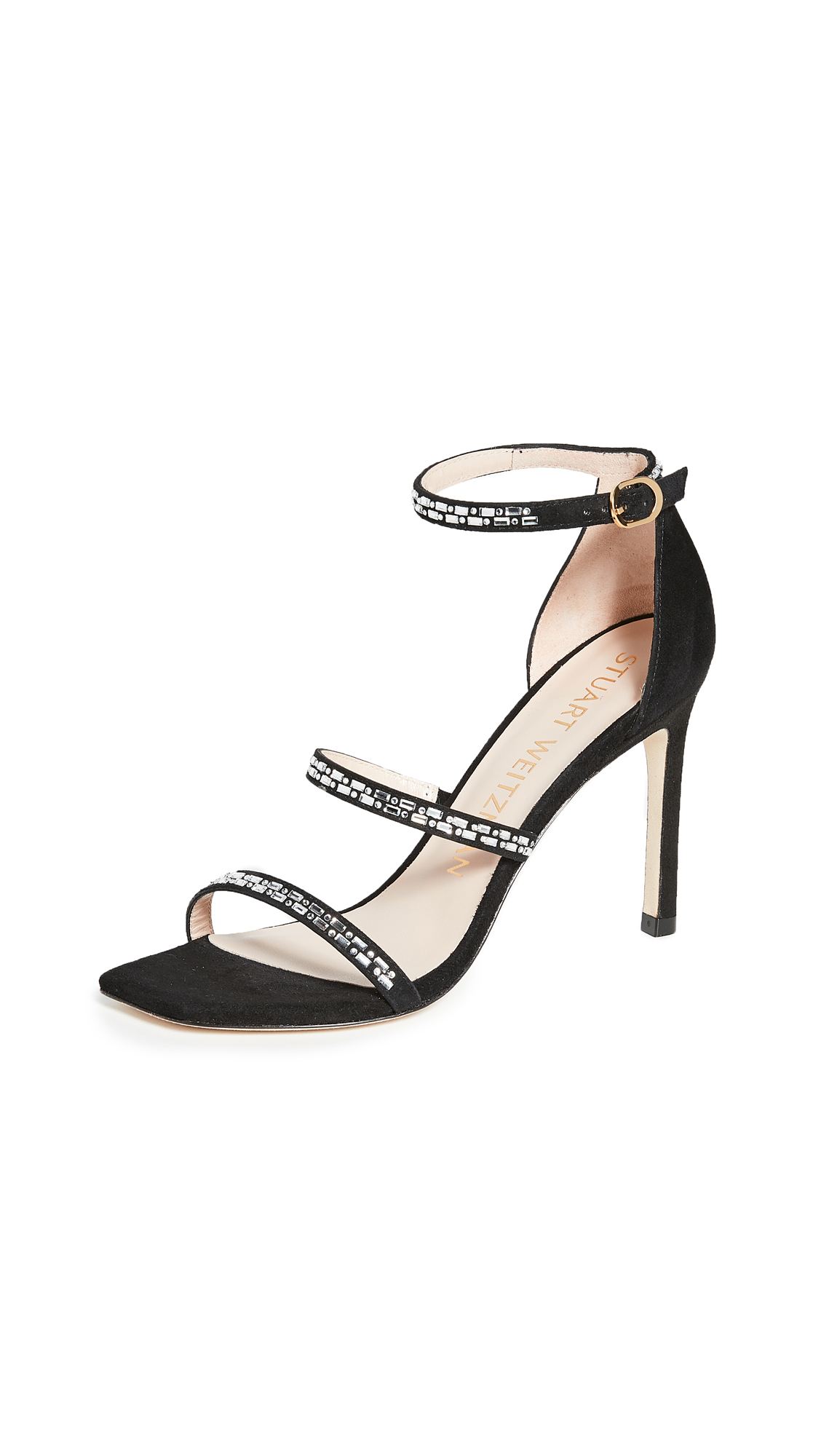 Stuart Weitzman Sabrine Sandals - Black