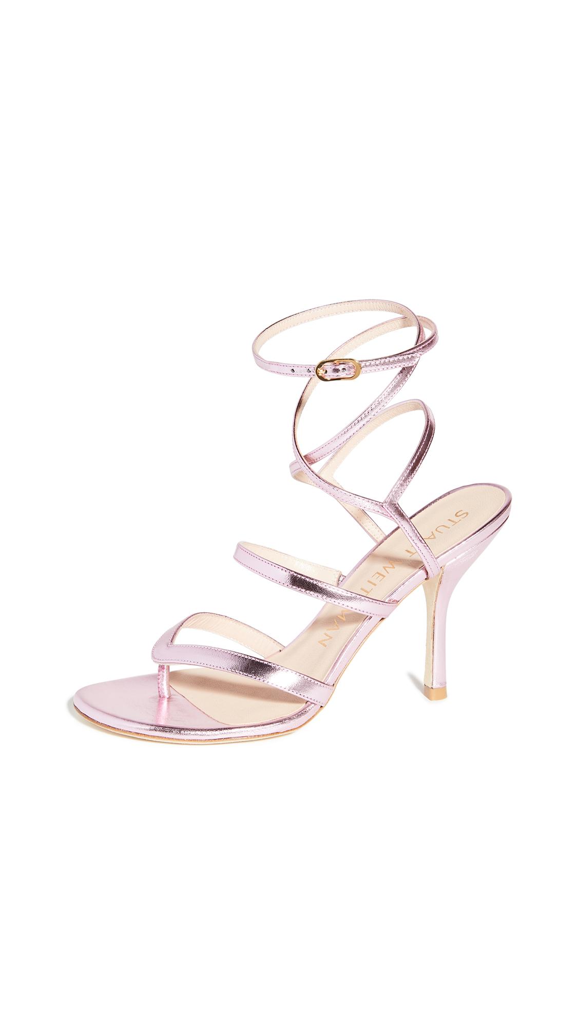 Buy Stuart Weitzman 95mm Julina Sandals online, shop Stuart Weitzman