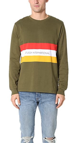 Stussy Race Long Sleeve Tee